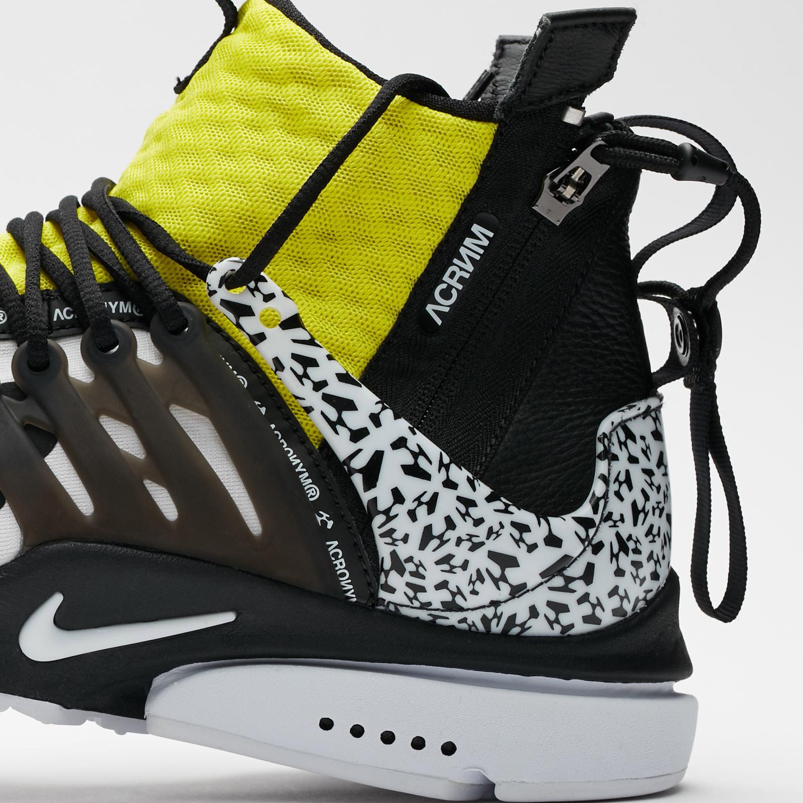 Nike Air Presto Mid x Acronym - Ah7832