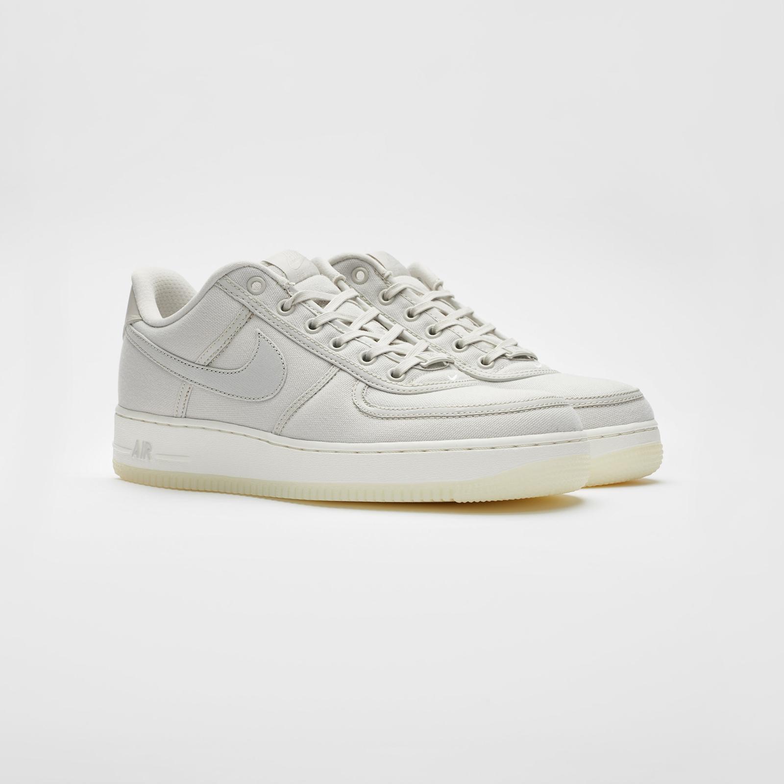 fb27f3f5be5 Nike Air Force 1 Low Retro QS Cnvs - Ah1067-003 - Sneakersnstuff ...