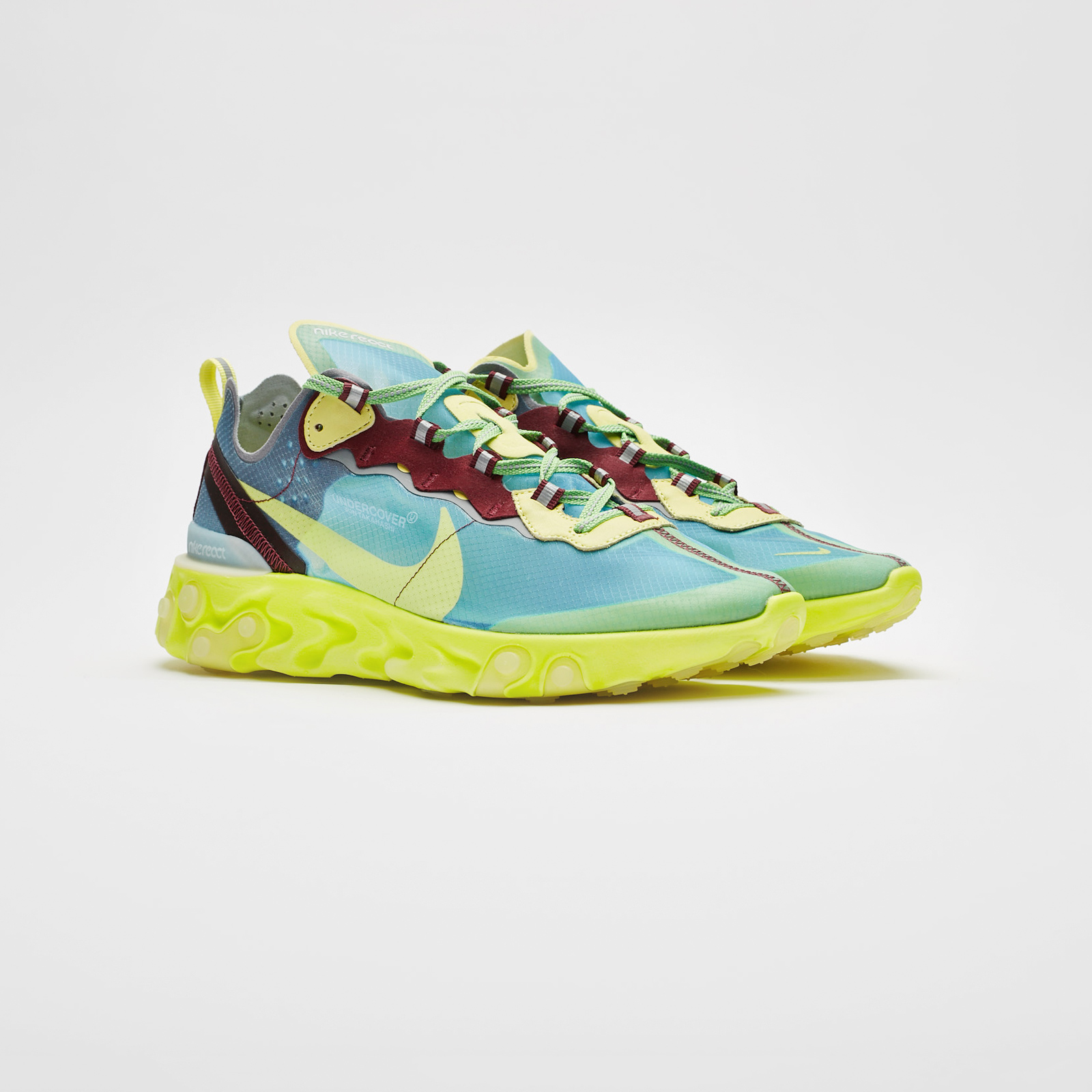 e4278e7502396 Nike React Element 87 x Undercover - Bq2718-400 - Sneakersnstuff ...