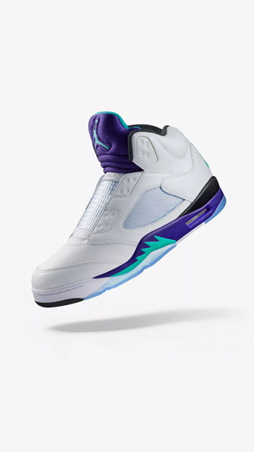 Air Jordan V ´Fresh Prince` being raffled at sneakersnstuff.com