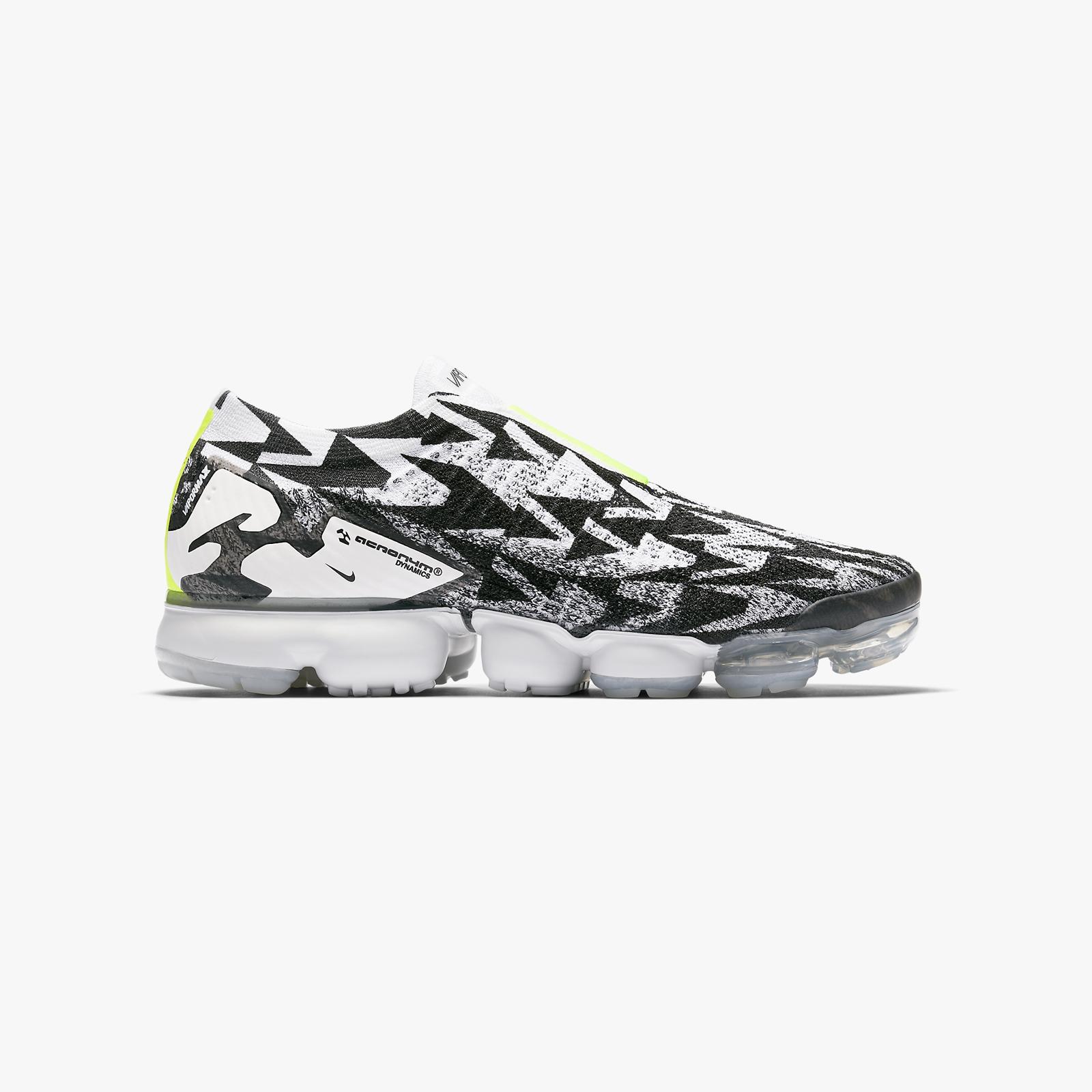 e6e30b12f4 Nike Air Vapormax FK Moc 2 / ACRONYM - Aq0996-001 - Sneakersnstuff ...