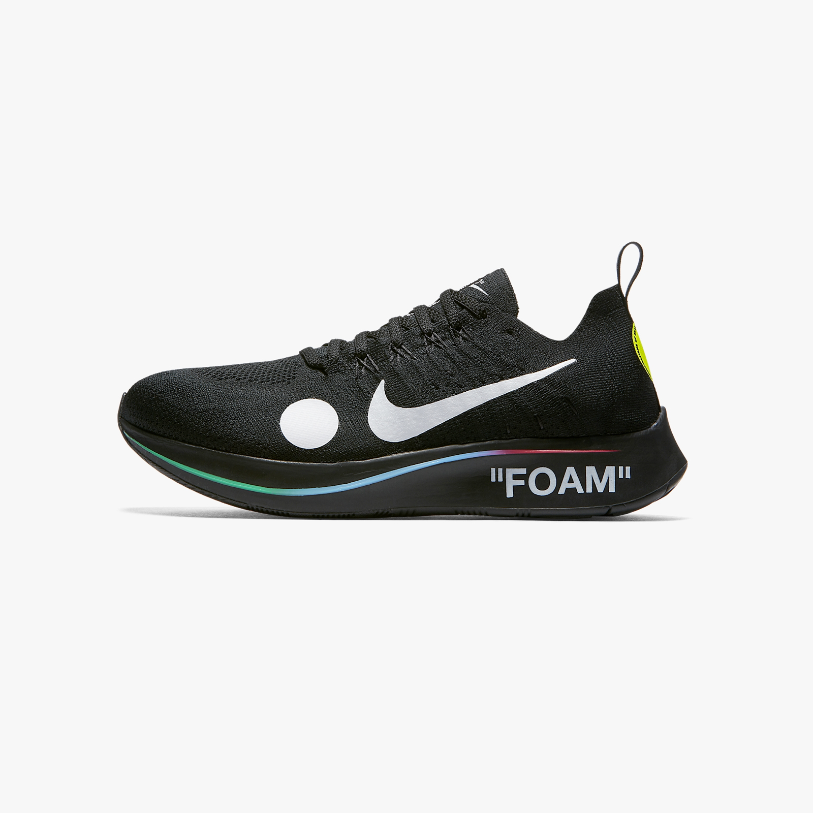 2ceb7ce786870 Nike Zoom Fly Mercurial Flyknit   Off-White - Ao2115-001 - Sneakersnstuff