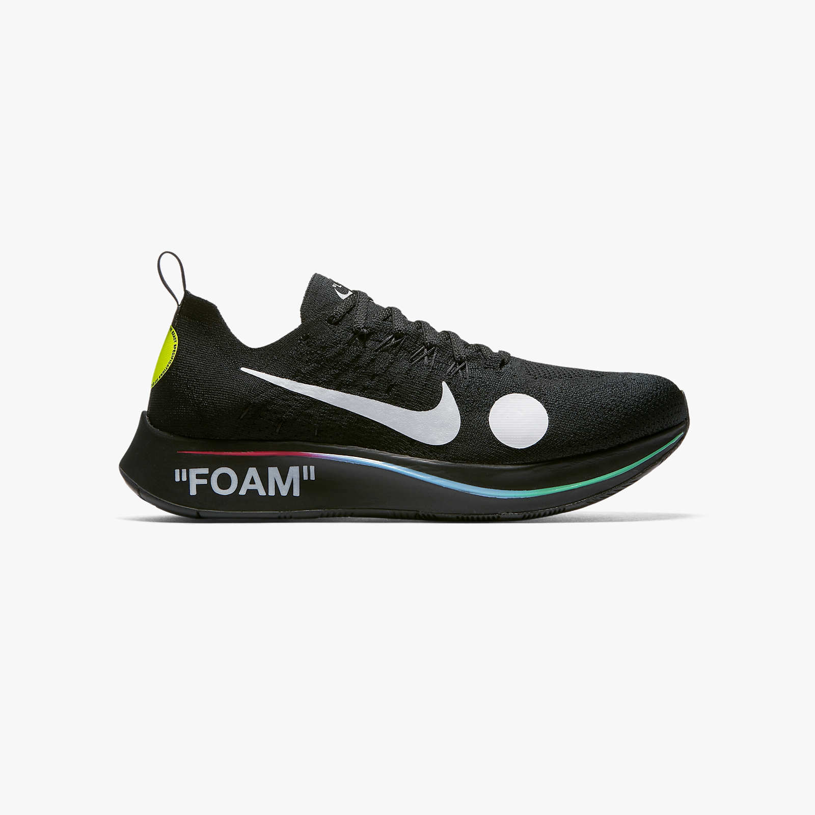 86aceda79dffa2 Nike Zoom Fly Mercurial Flyknit   Off-White - Ao2115-001 ...