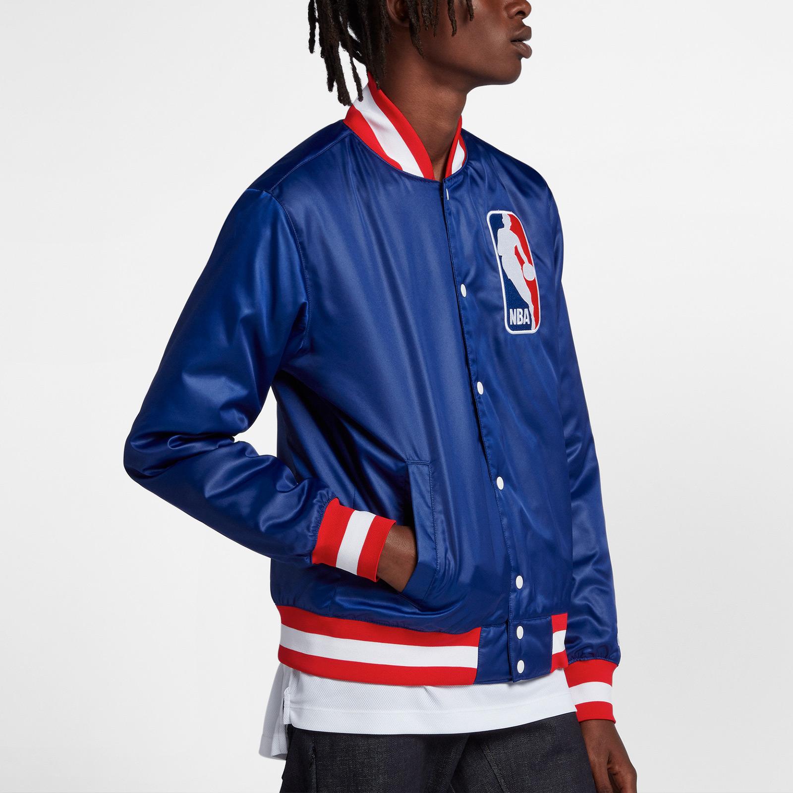 Nike SB x NBA Bomber Jacket - Ah3392-455 - SNS | sneakers ...
