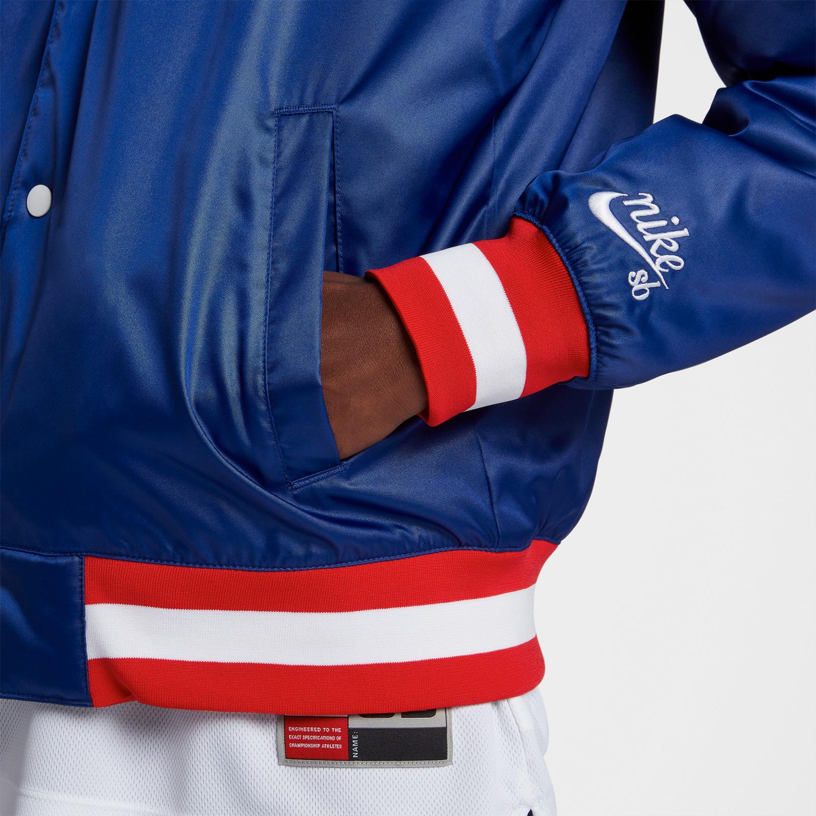 090fa7adedc Nike SB x NBA Bomber Jacket - Ah3392-455 - Sneakersnstuff