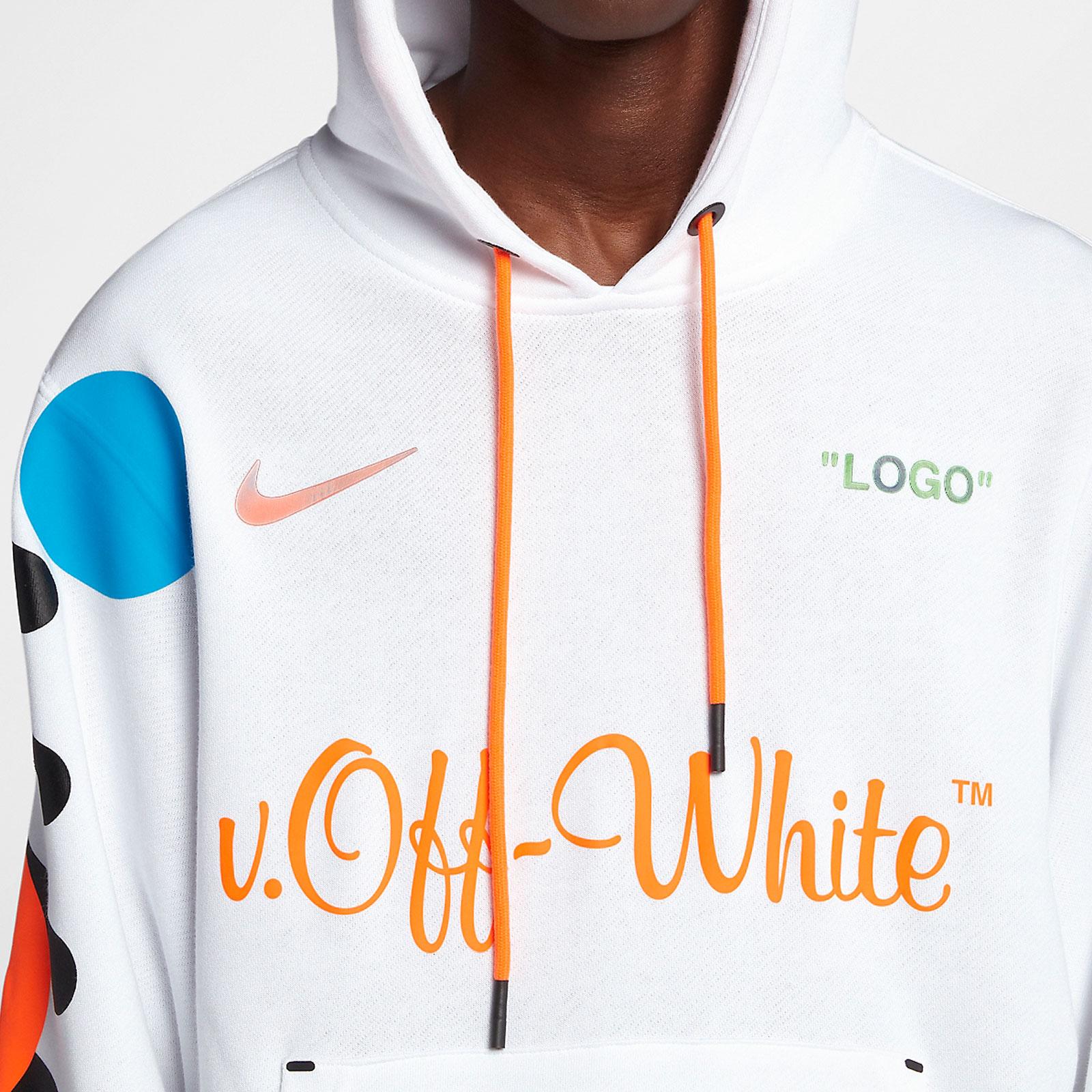43b43282 Nike Nike X Off White Hoodie - Aa3257-100 - Sneakersnstuff ...