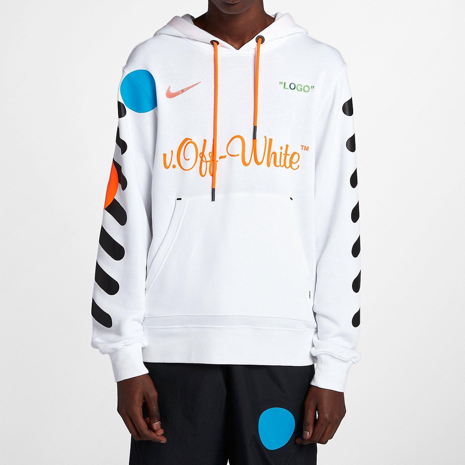 Nike Nike X Off White Hoodie Aa3257 100 Sneakersnstuff I