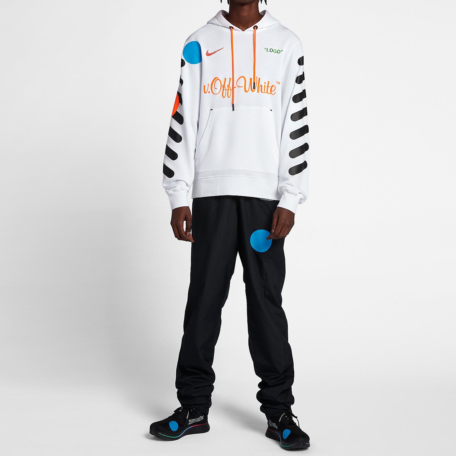Nike Nike X Off White Hoodie - Aa3257-100 - Sneakersnstuff I ...