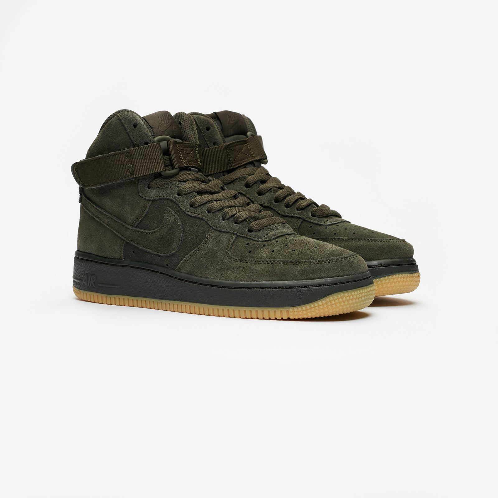 Shoes NIKE Air Force 1 High Lv8 (GS) 807617 300 SequoiaSequoia