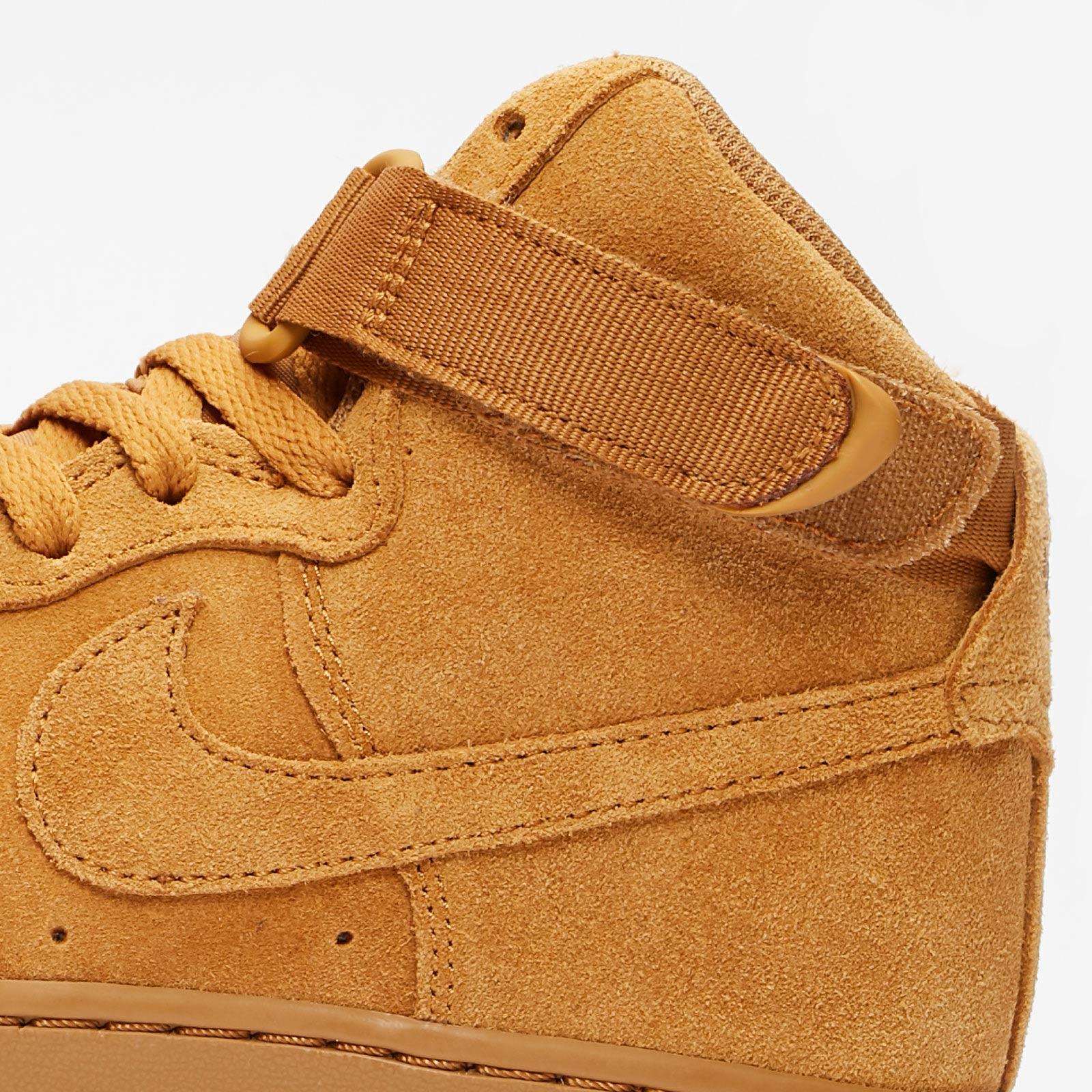 Shoes NIKE Air Force 1 High Lv8 (GS) 807617 701 Wheat