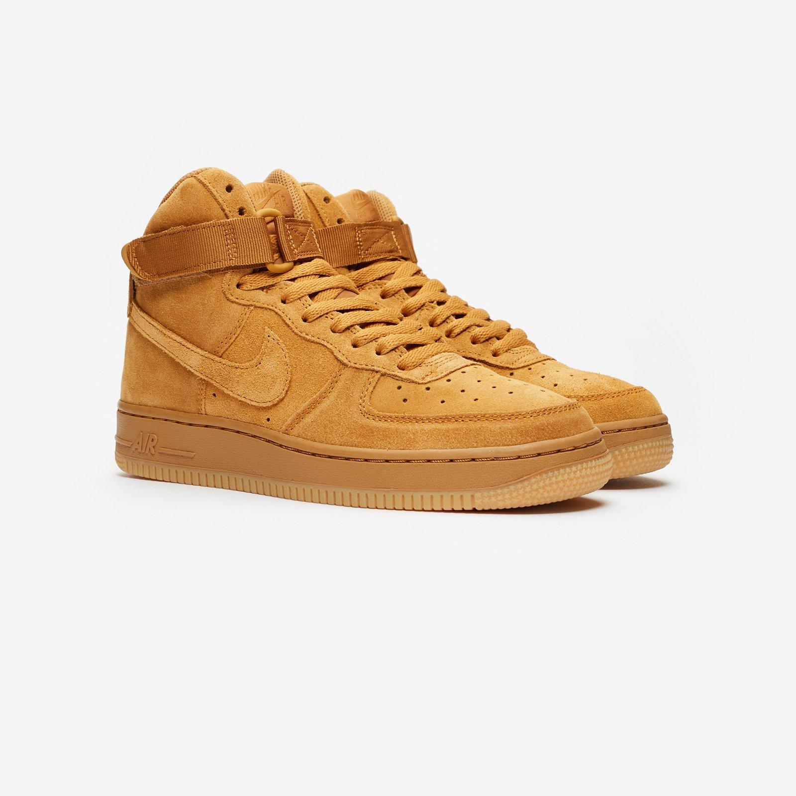 air force 1 high lv8 wheat sneaker