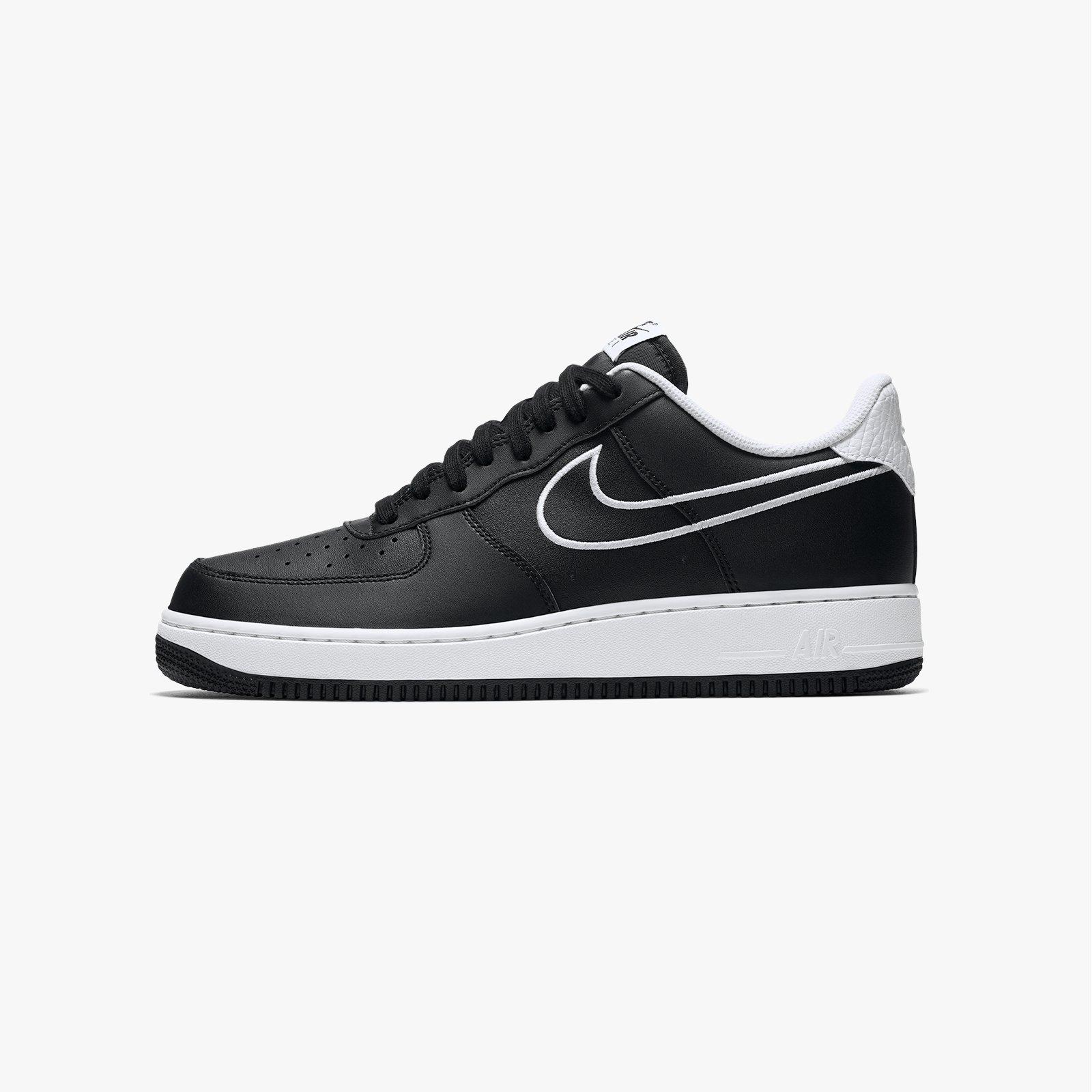 Air Force 1 '07 Leather 'Black' Nike AJ7280 001 black