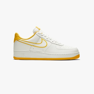 new style e527f 37bbb Air Force 1 07 Leather