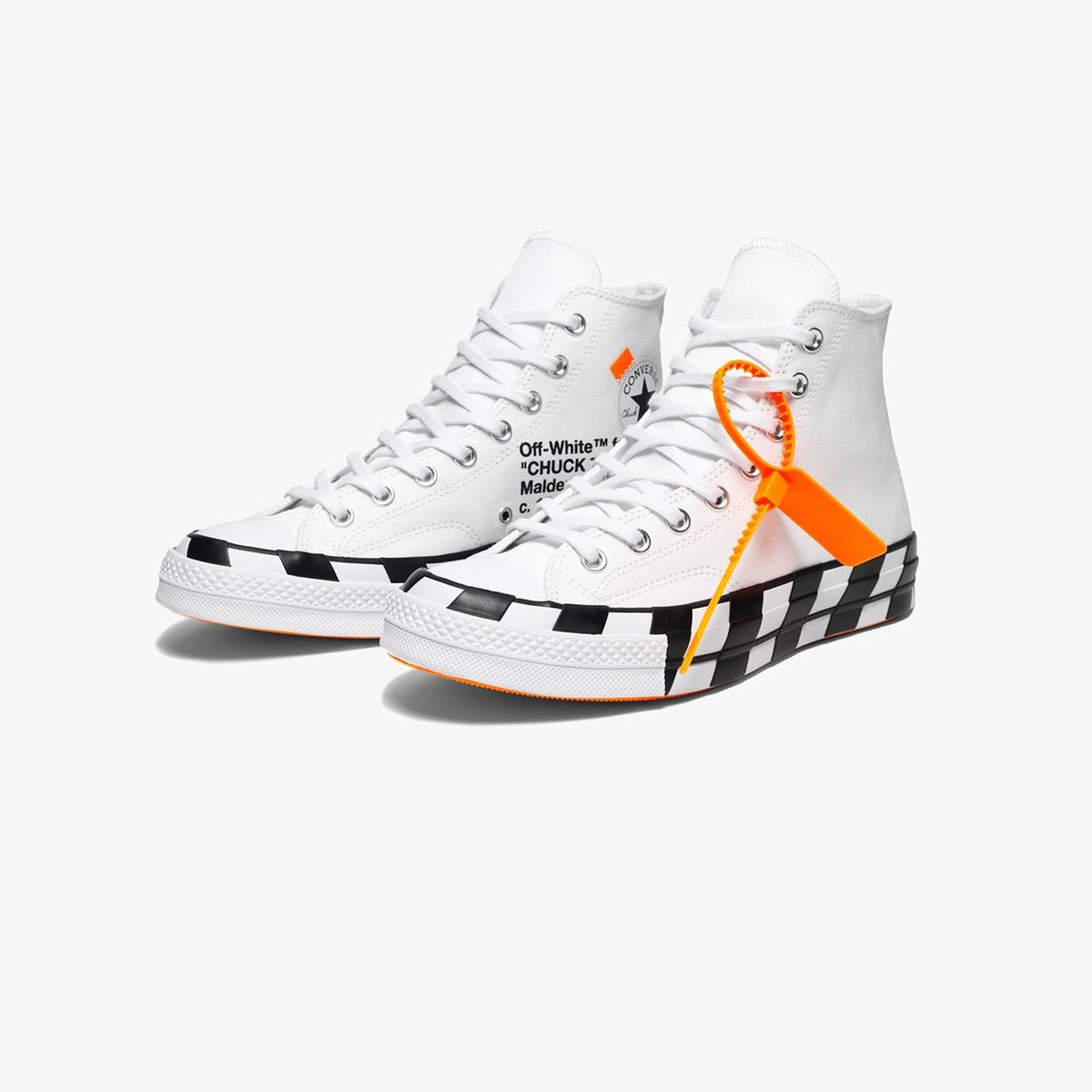 Converse Chuck Taylor 70 x Off White - 163862c - Sneakersnstuff | sneakers  & streetwear en ligne depuis 1999