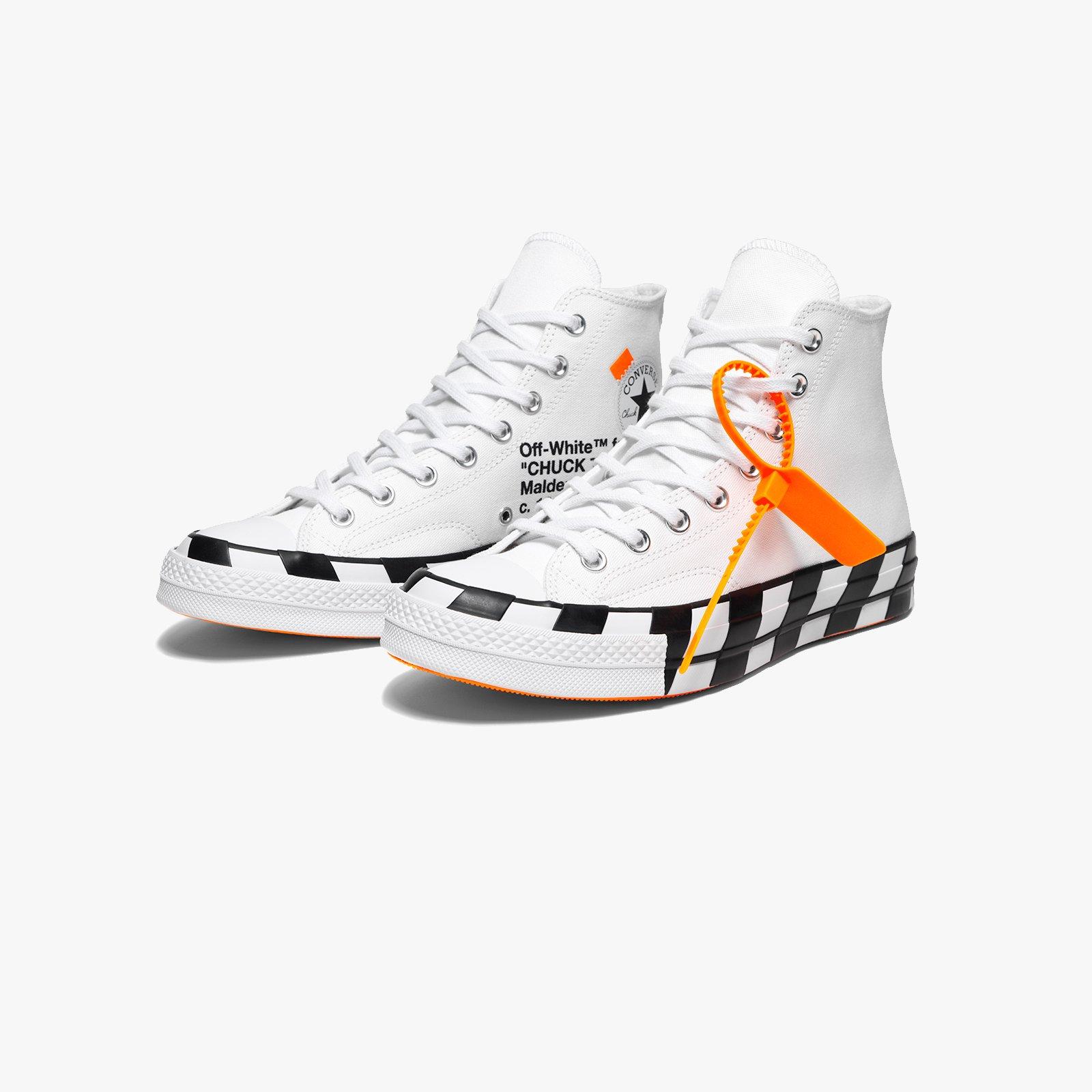 Converse Chuck Taylor 70 x Off White - 163862c - Sneakersnstuff ... f55311b24
