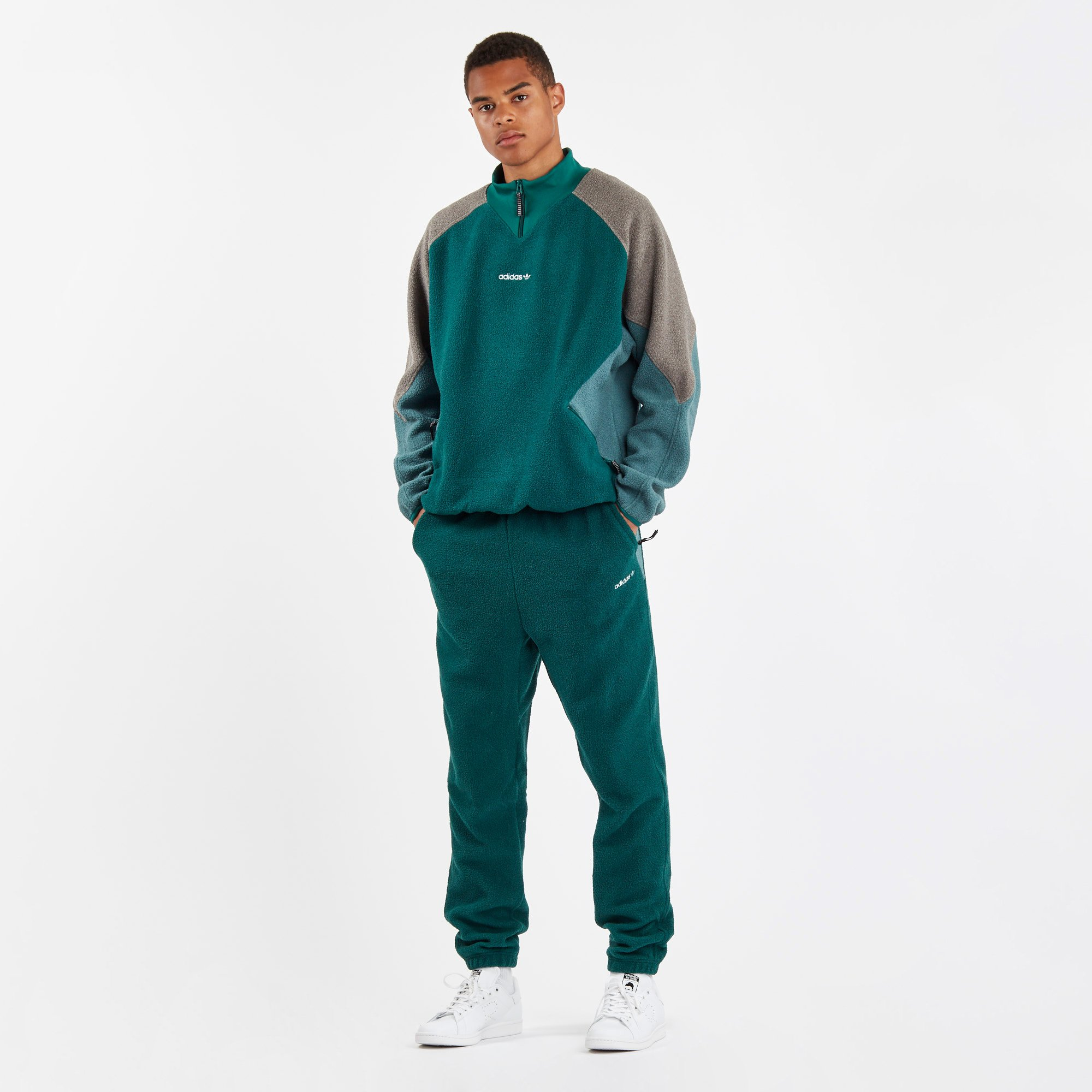 cola barro Interpretación  adidas EQT Polar Fleece Top - Dh5194 - Sneakersnstuff | sneakers &  streetwear online since 1999