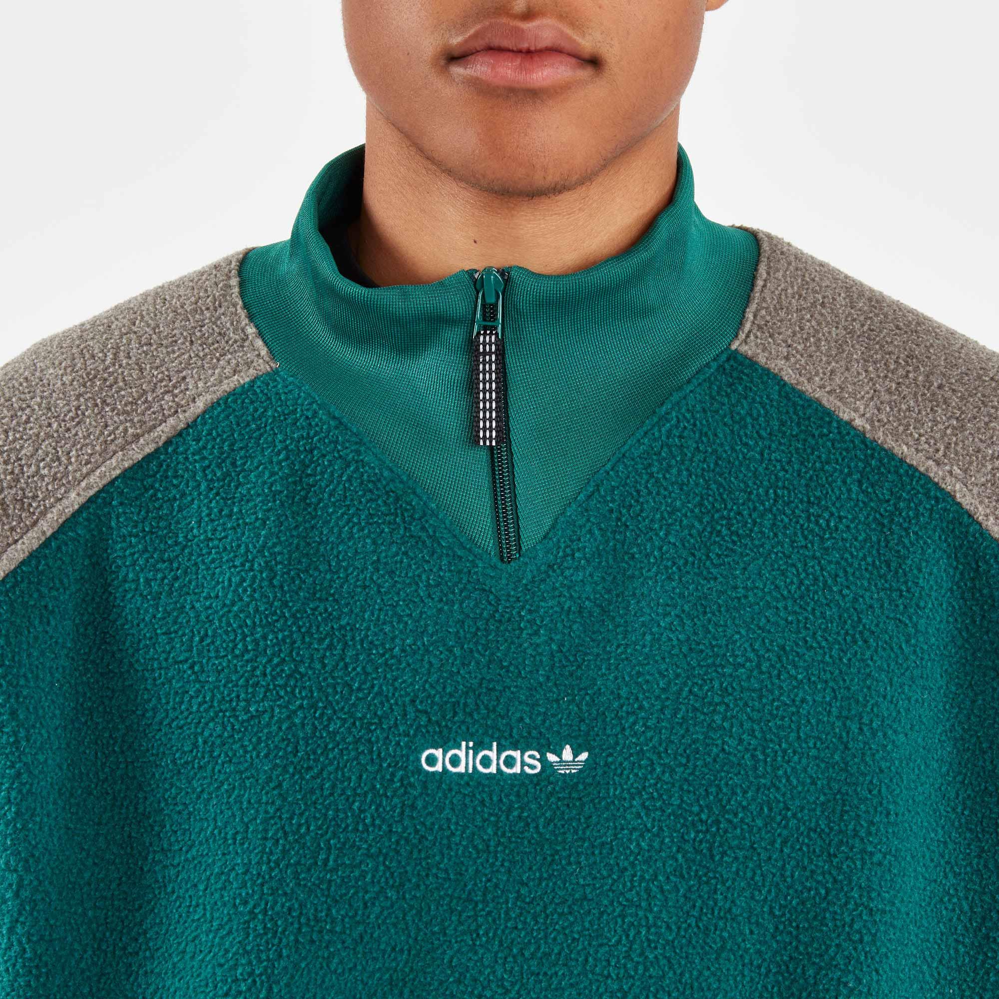 adidas fleece top