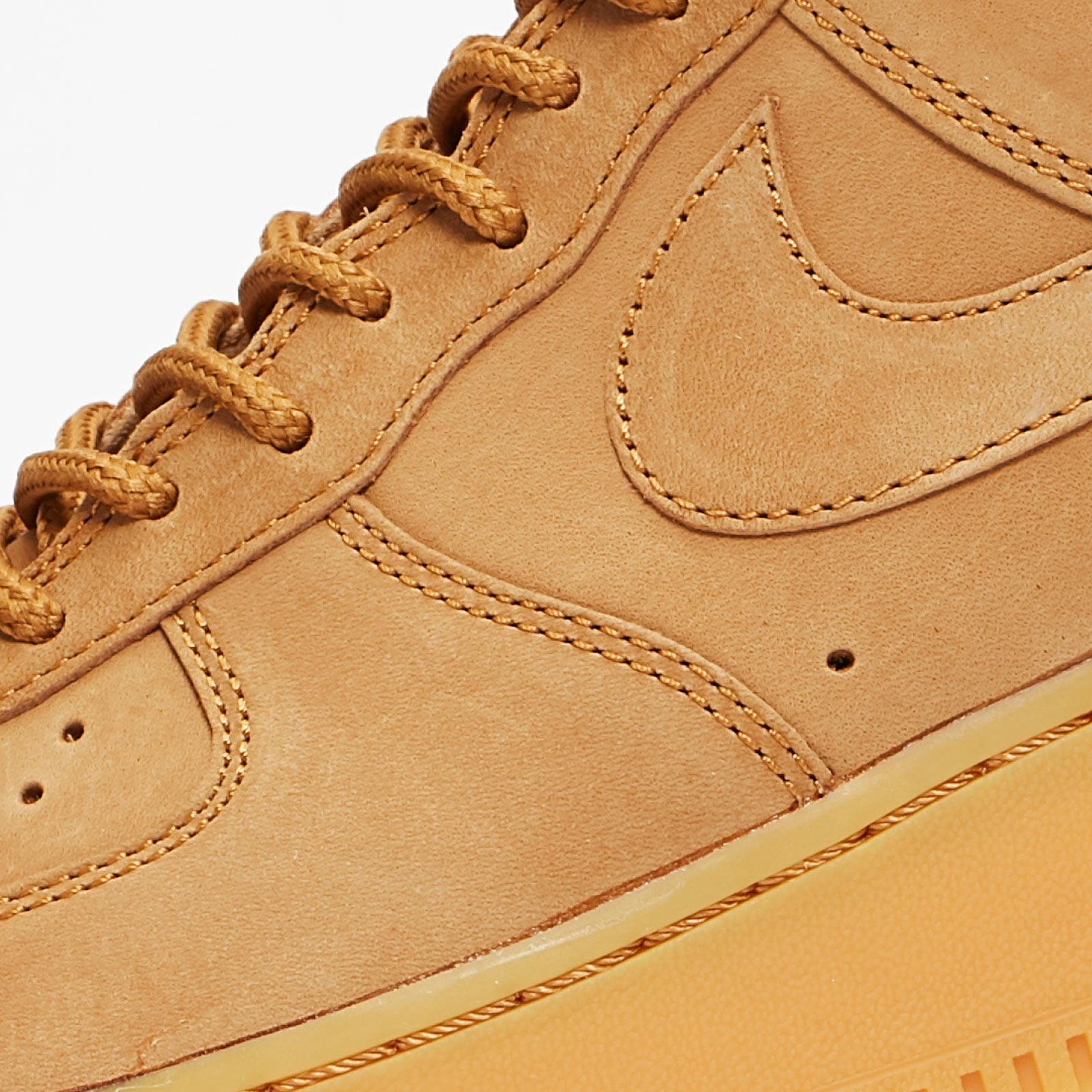Nike Air Force 1 High Flax Wheat Almost New Us 8.5
