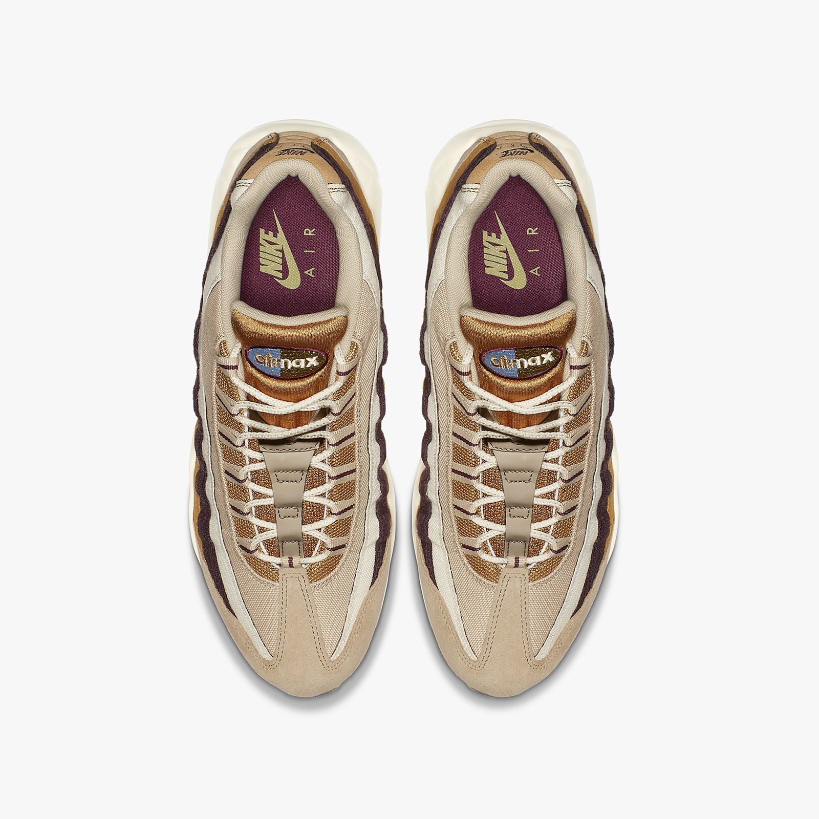 1db7e4e829 Nike Air Max 95 Premium - 538416-205 - Sneakersnstuff | sneakers ...