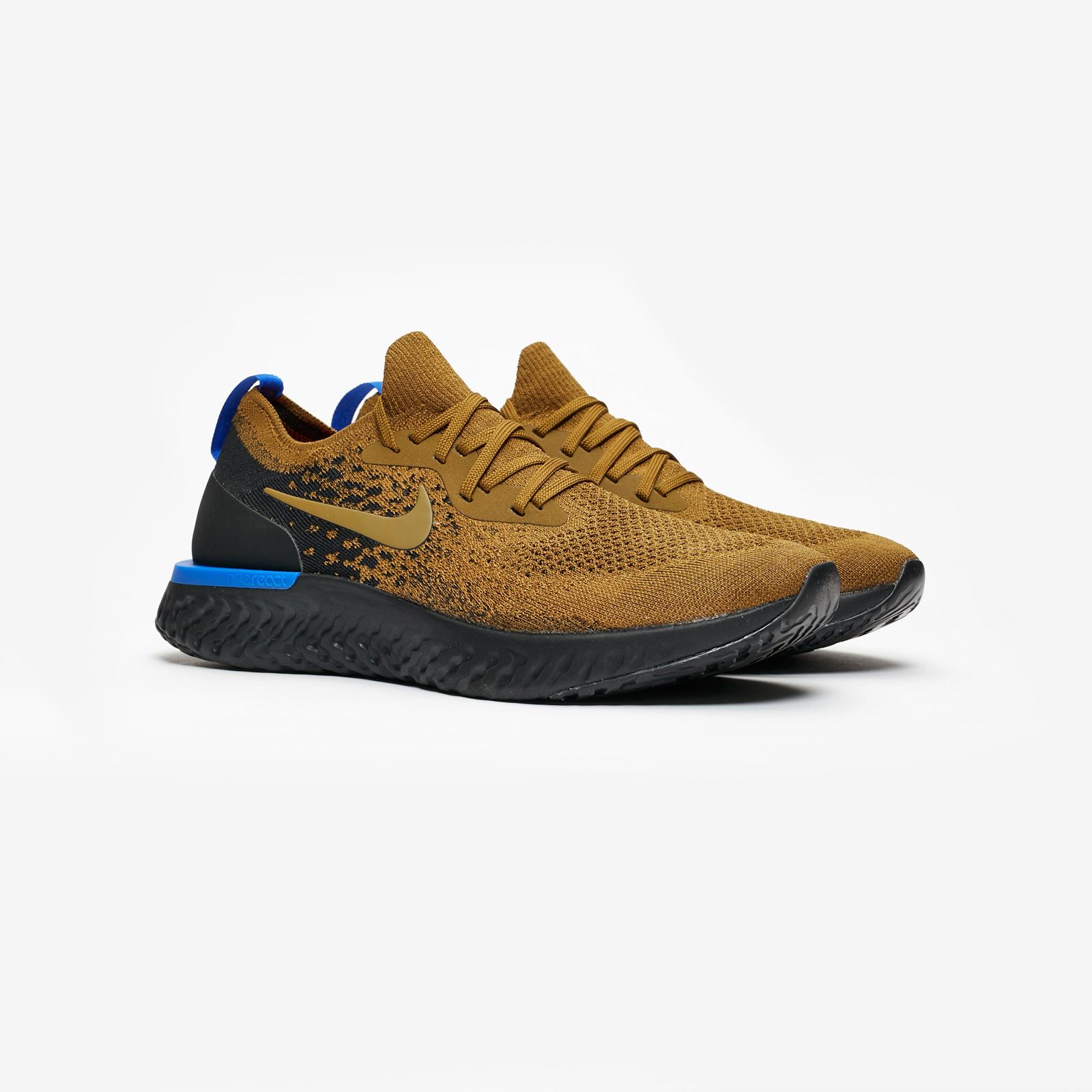 6bb91b1bdde9b Nike Epic React Flyknit - Aq0067-301 - Sneakersnstuff