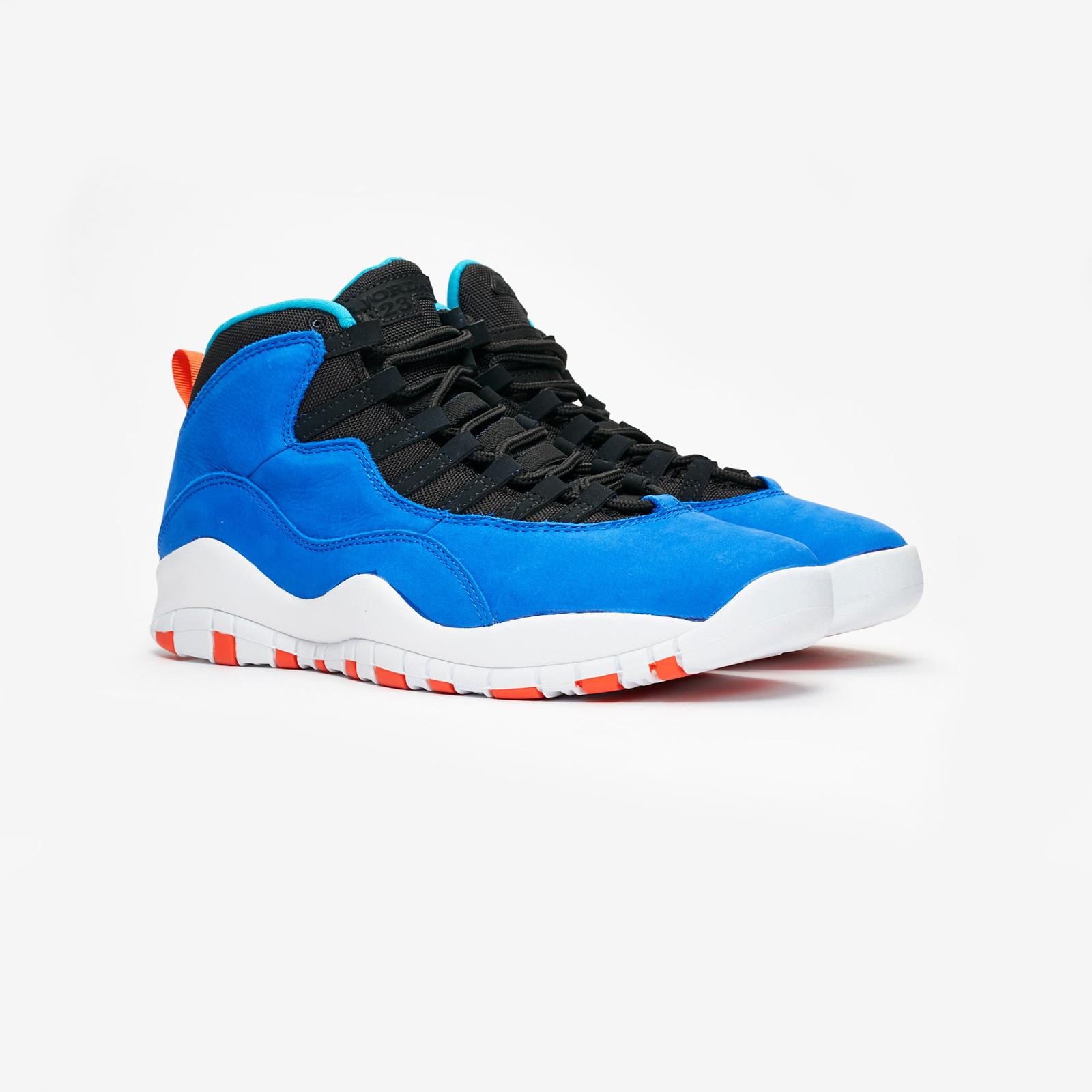 a1a03a2c0e38 Jordan Brand Air Jordan 10 Retro - 310805-408 - Sneakersnstuff ...
