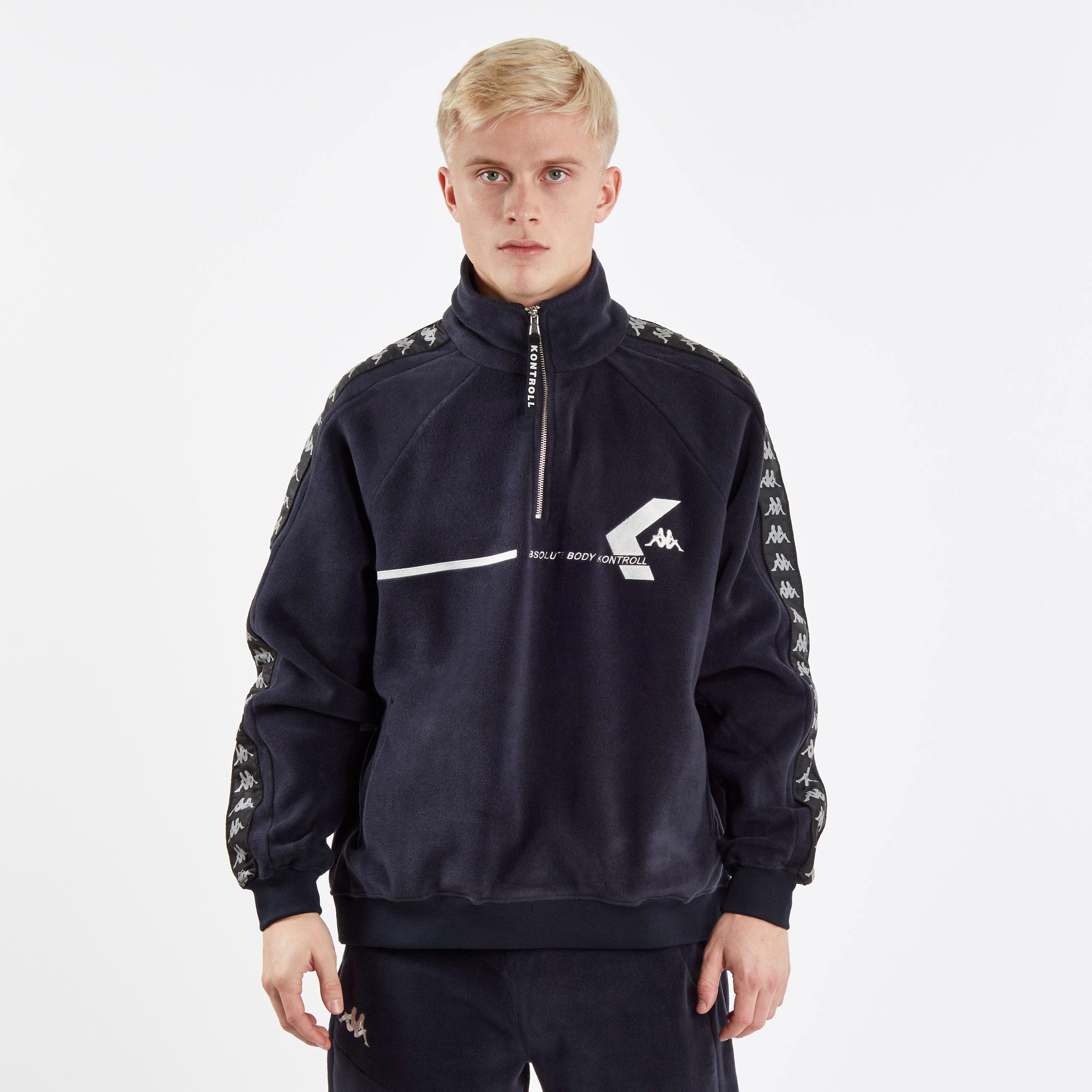 Kappa Kontroll Polar Fleece - 304jki0-nvy - Sneakersnstuff ... 2acc6ea444d5a