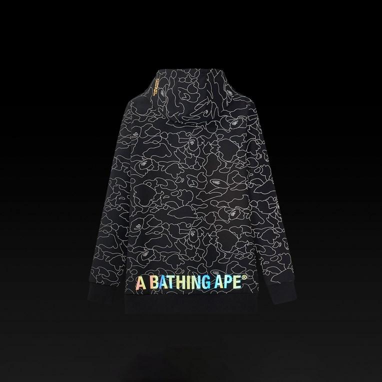 bape x adidas tech hoodie