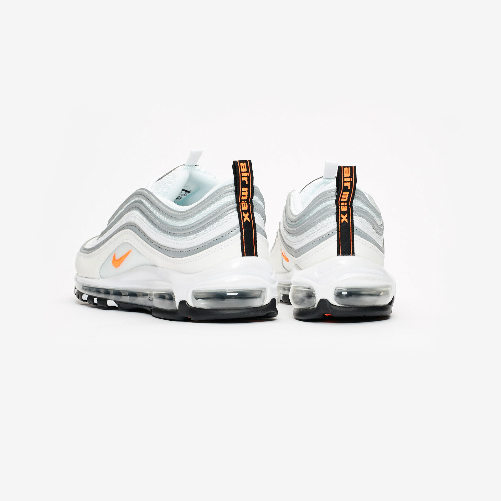 d3378a40ae Nike Sportswear Air Max 97. Article no. Bq4567-100. White/Cone/Metallic  Silver. Men