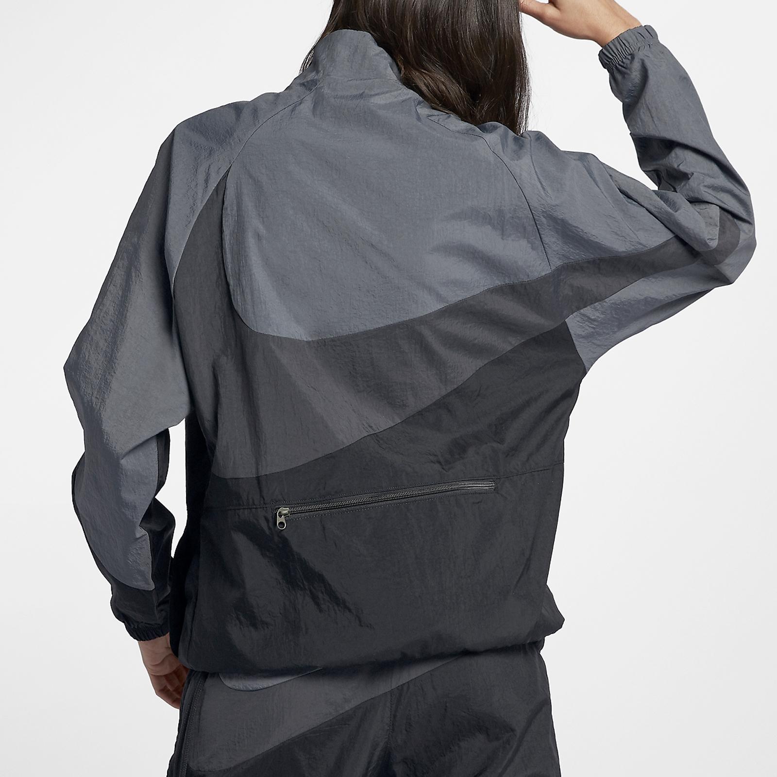 d05e25d7c694 Nike NSW Swoosh Woven Halfzip Jacket - Aj2696-011 - Sneakersnstuff ...