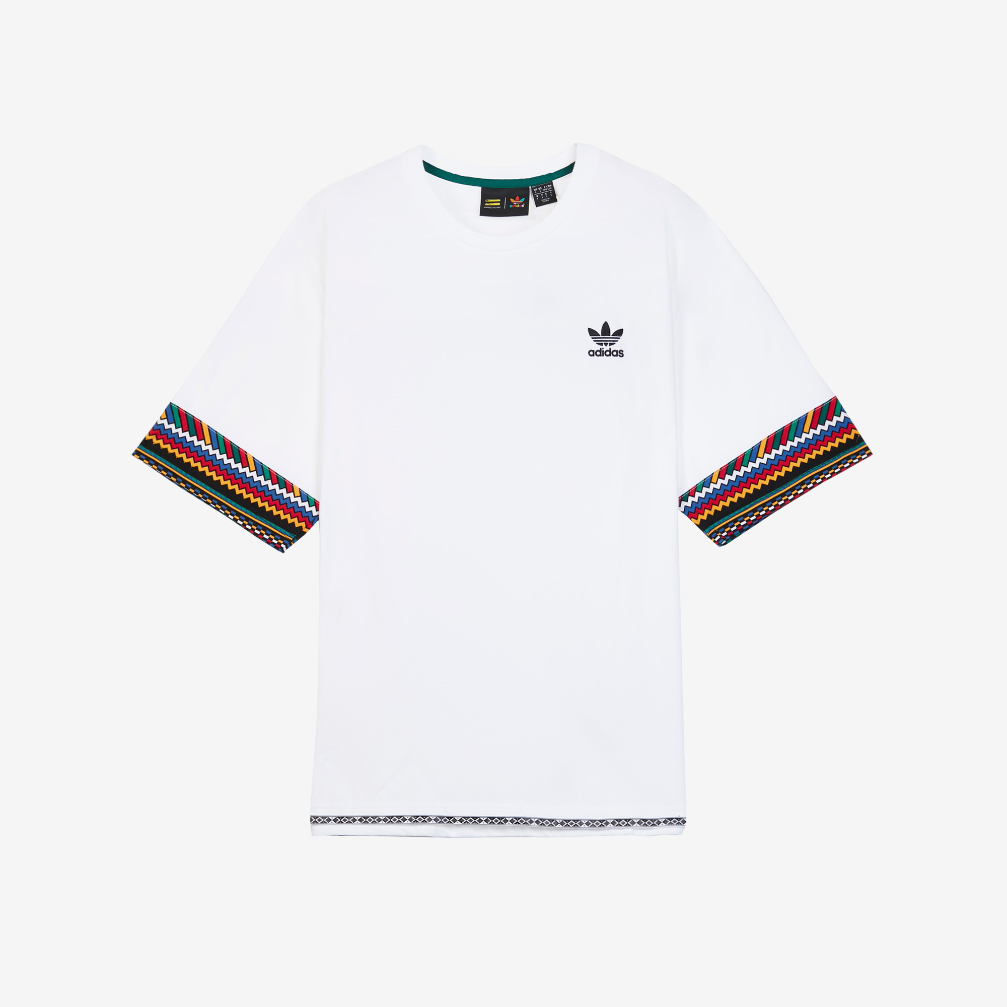 separation shoes 25a9f 61c04 adidas by Pharrell Williams PW Solar HU Trefoil Tee