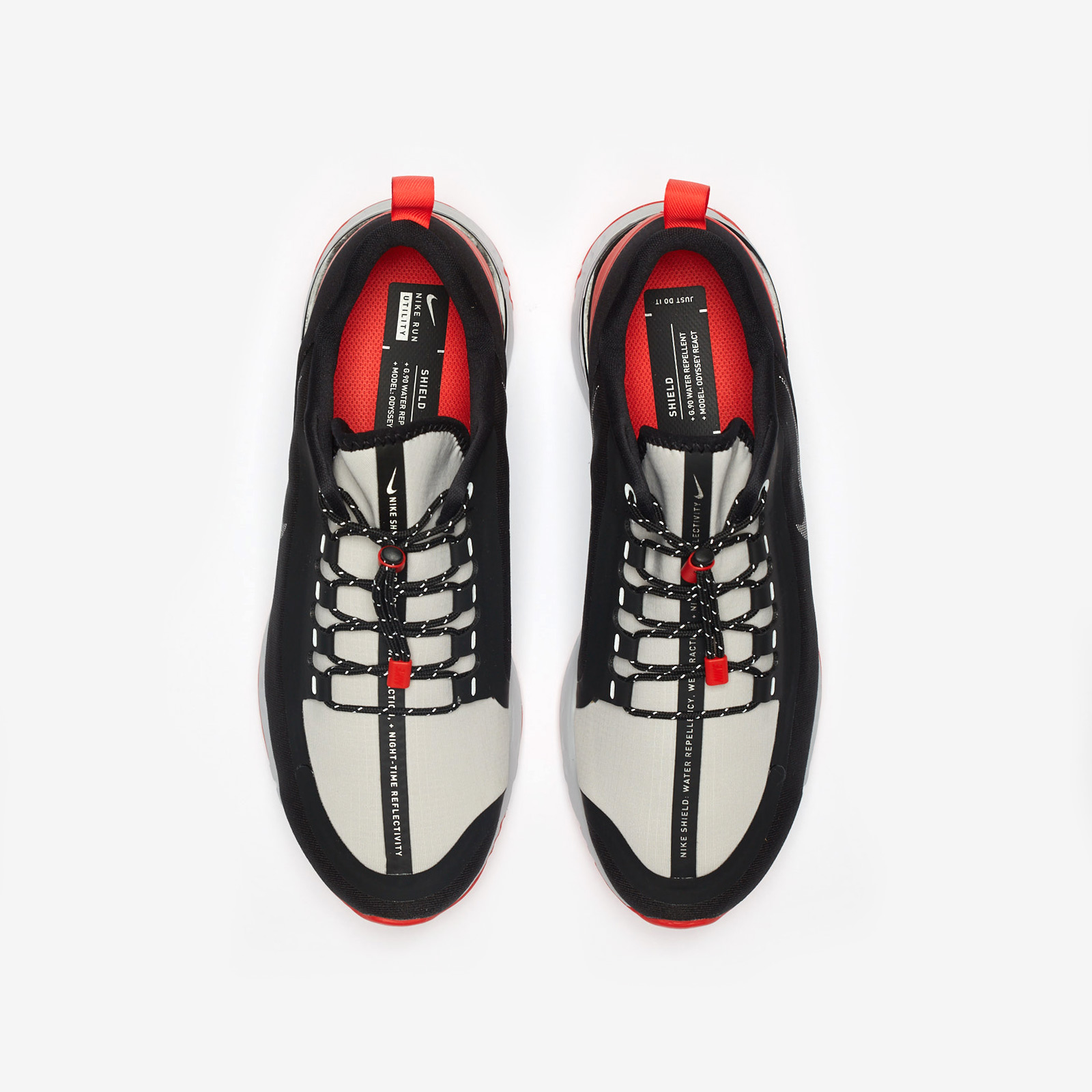 46b4eaa5d860 Nike Odyssey React Shield QS - Bq9780-006 - Sneakersnstuff ...