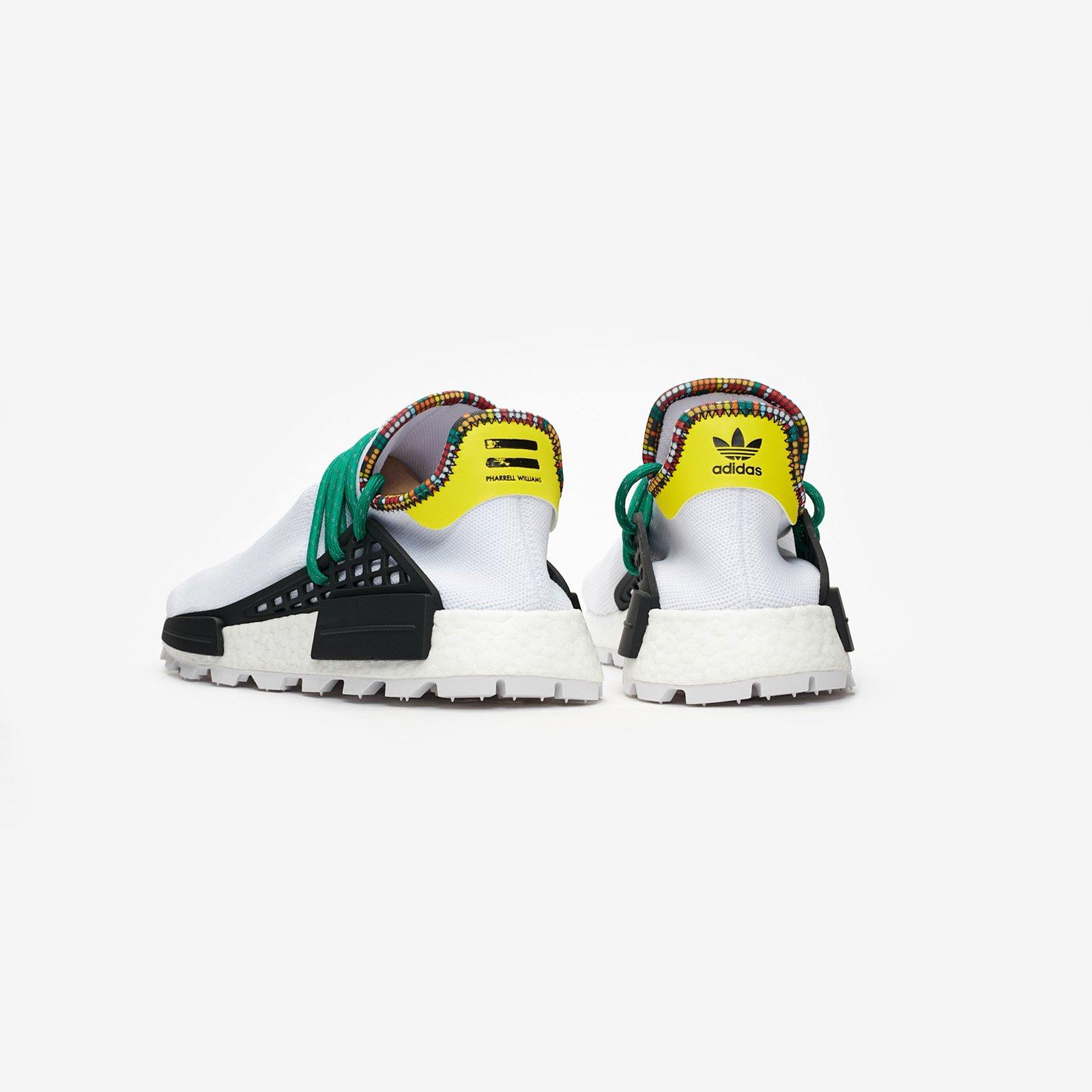 finest selection b34f4 b7c97 ... adidas by Pharrell Williams PW HU NMD ...