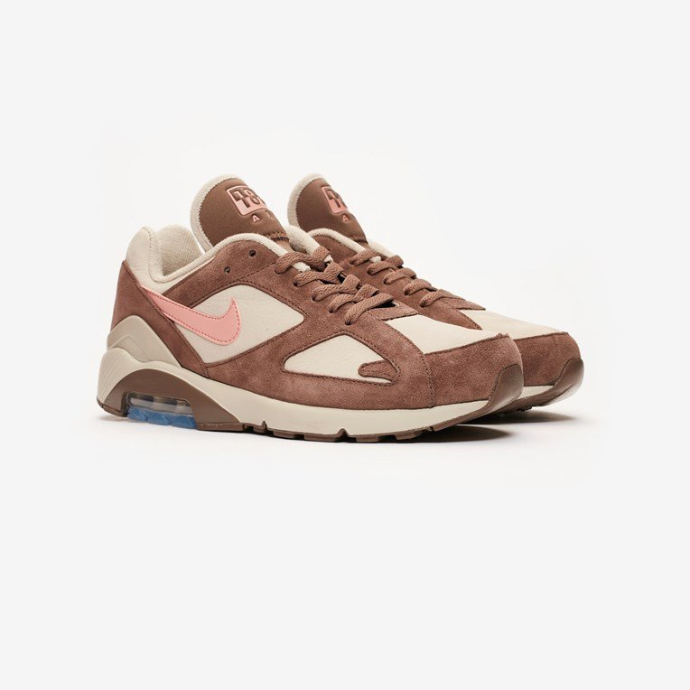 Nike Air Max ® 180 Size 10 UK Mens Trainers 'Rust Pink