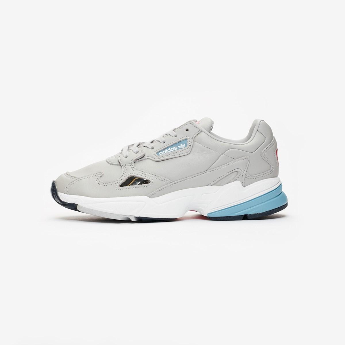 Adidas Women Falcon Shoes GreyRaw Blue B37840 |