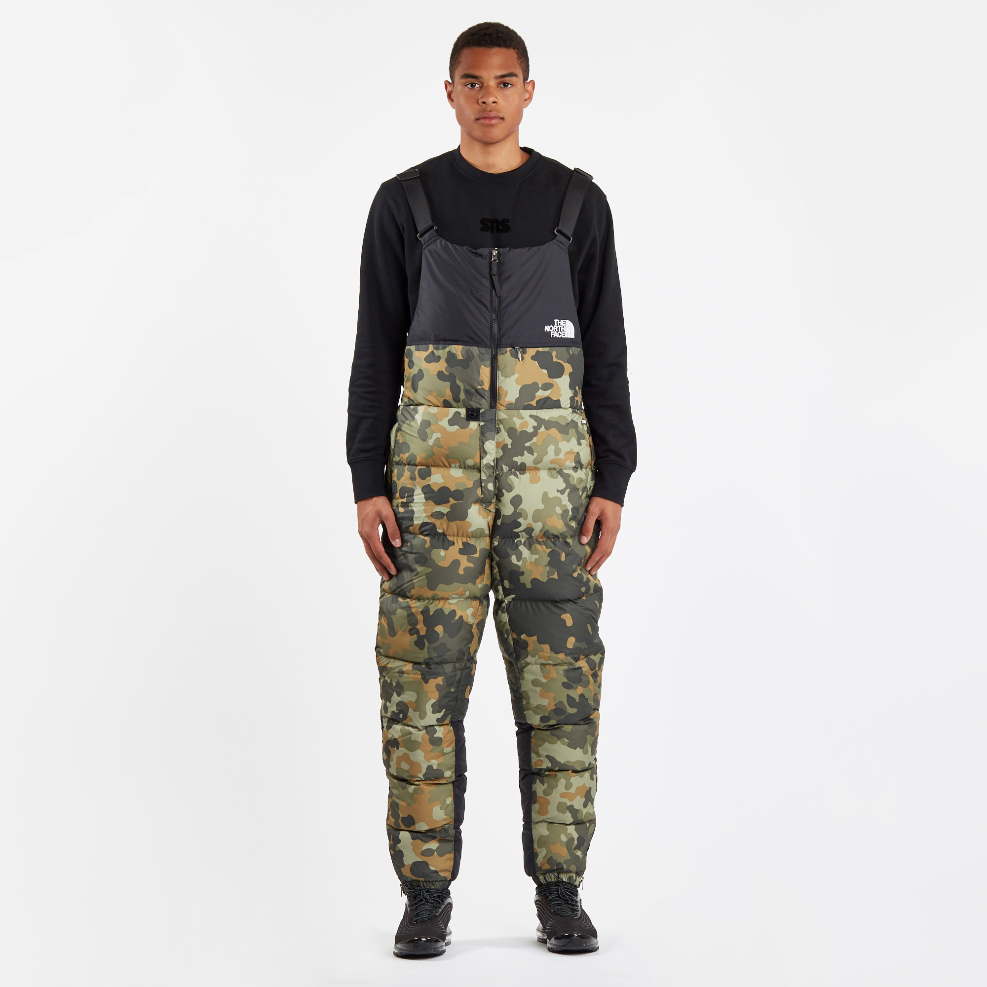 3672cbab185c2 The North Face Nuptse Bib - Nf0a3mh65xp - Sneakersnstuff   sneakers ...