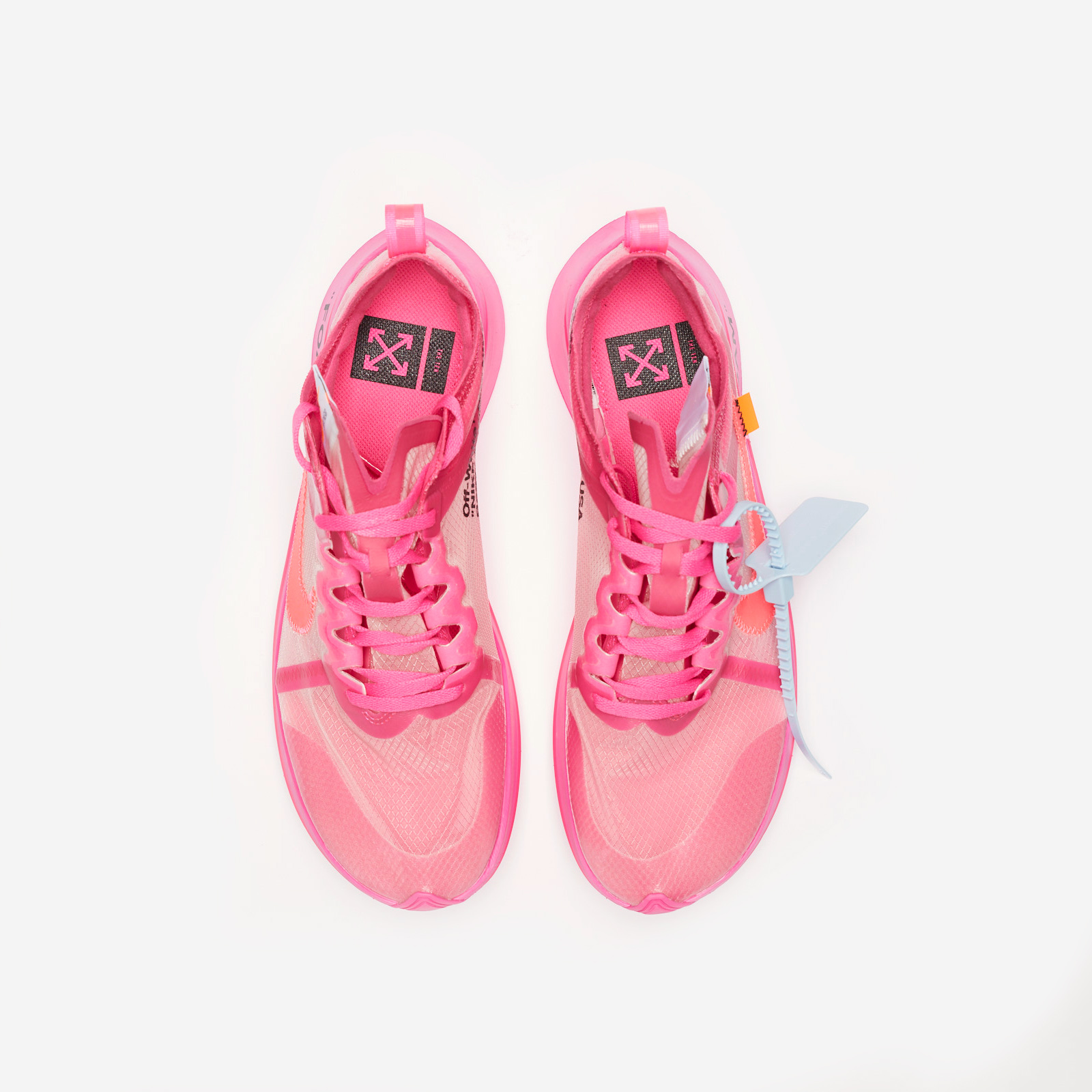 Off White Nike Zoom Fly Pink AJ4588 600 Release Date SBD