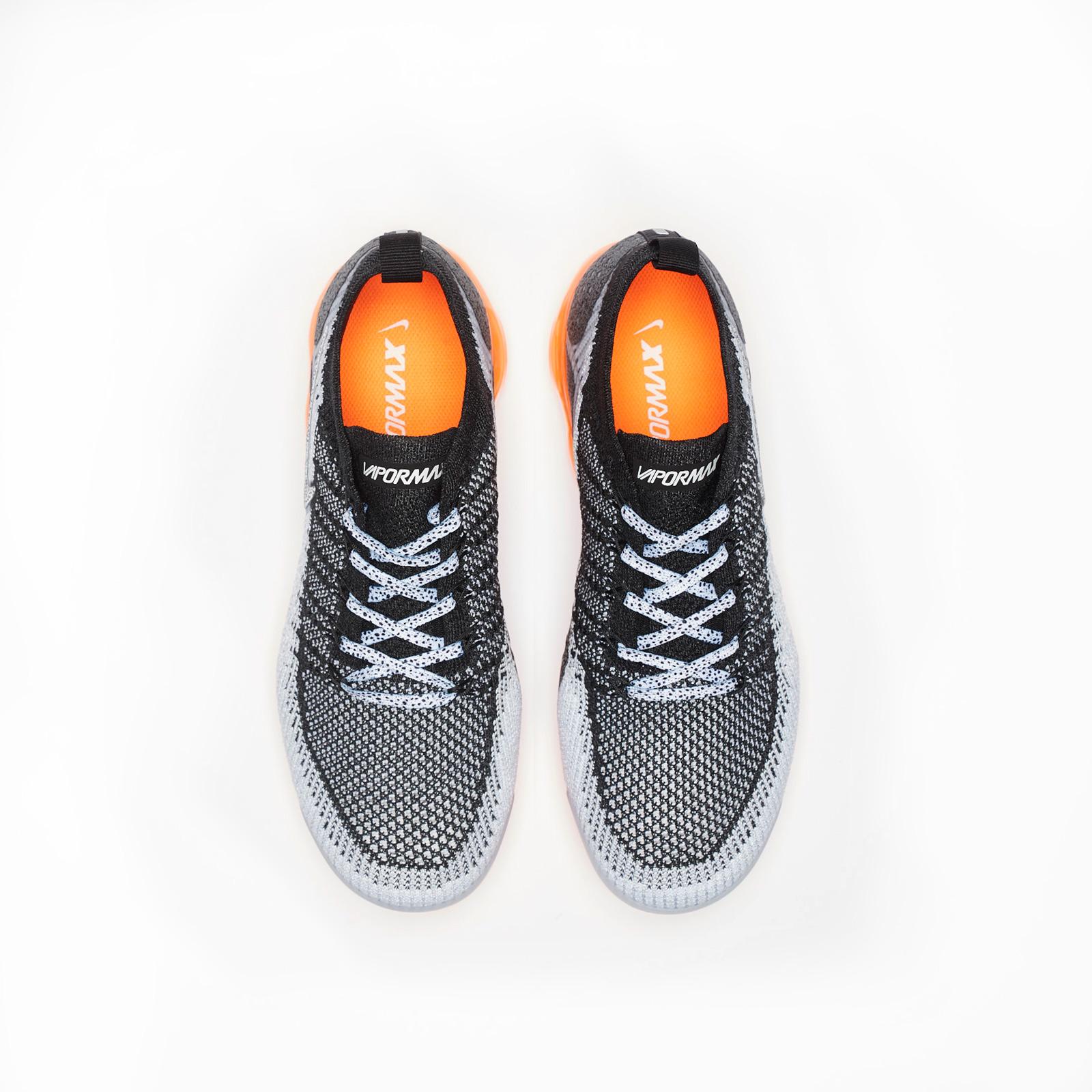 Nike Air VaporMax 2.0 Safari Men's WhiteWhite Black Total Orange 942842 106