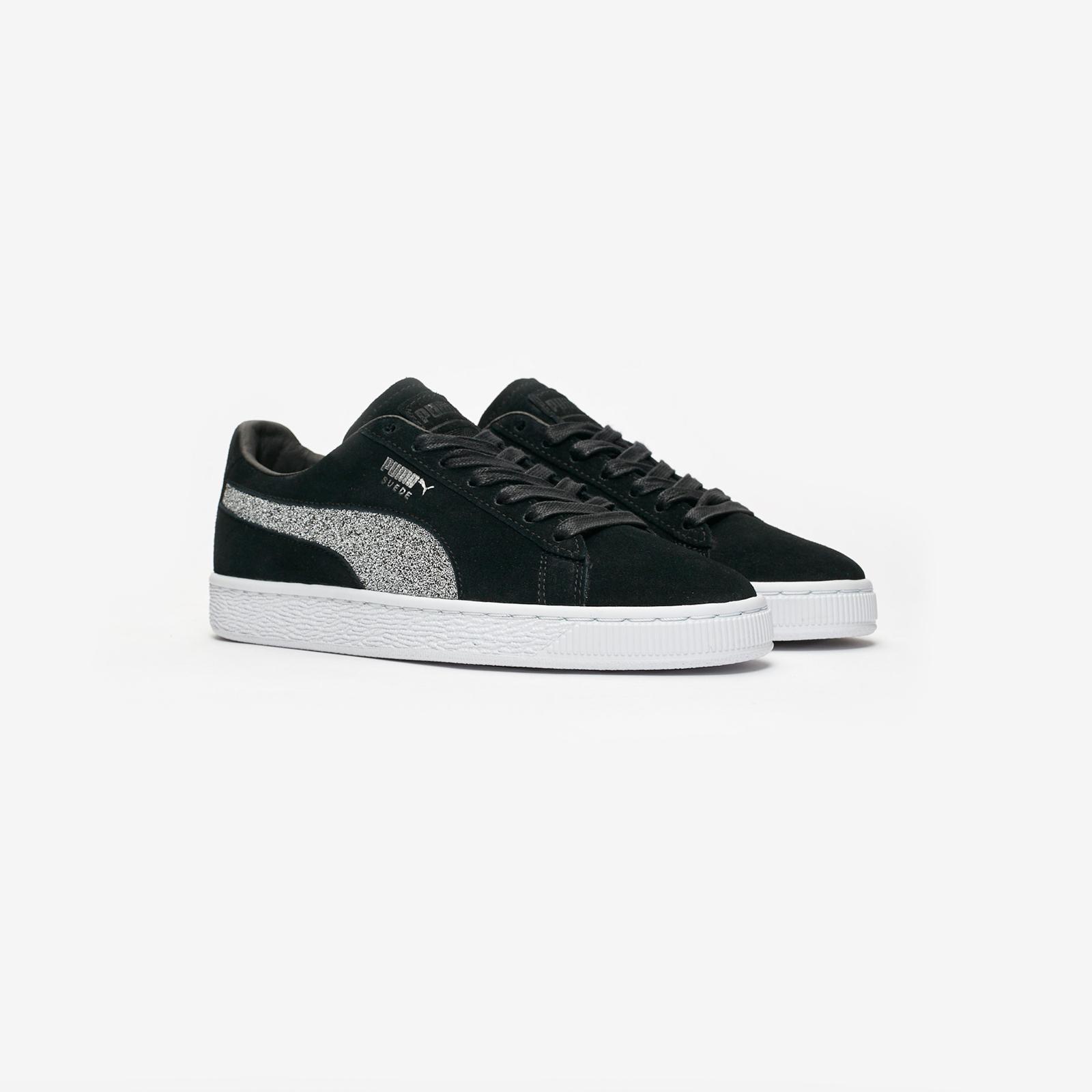 Puma Suede Classic x Swarovski - 366324-01 - Sneakersnstuff ... 2a398f346