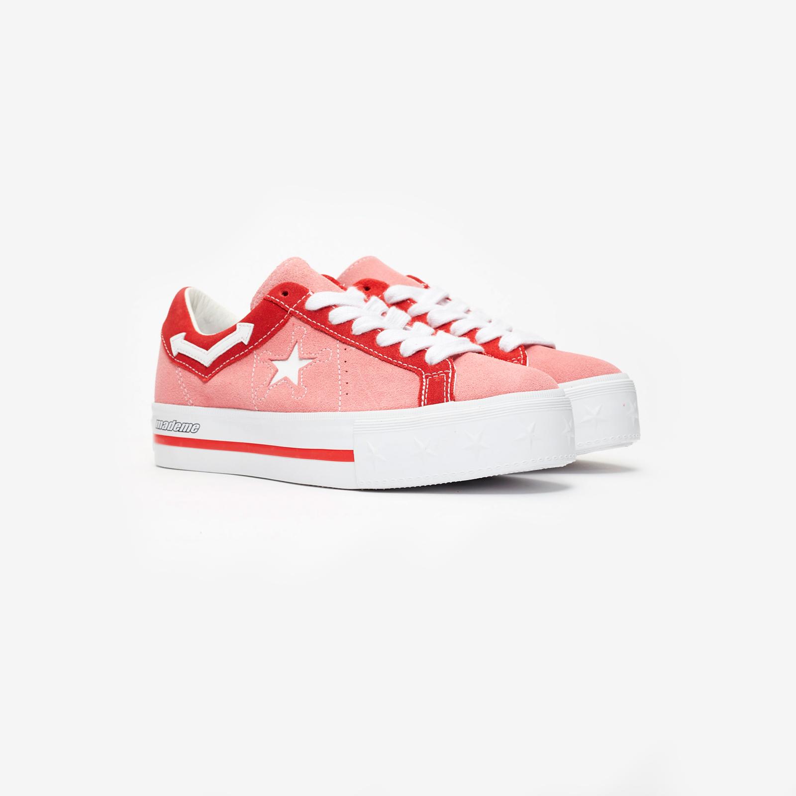f91becff6d98 Converse One Star Platform x MadeMe - 563730c - Sneakersnstuff I ...