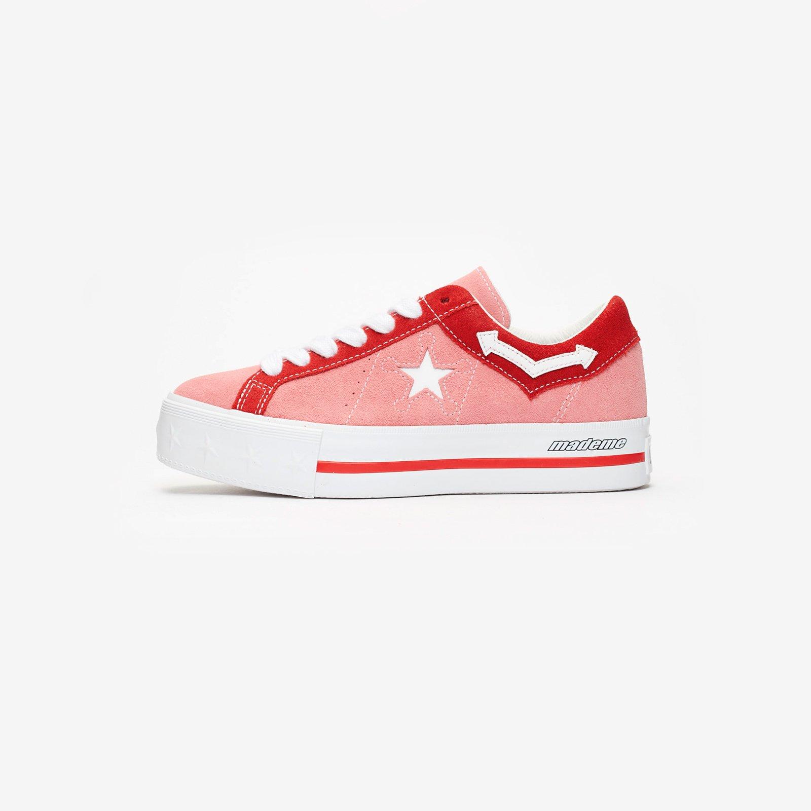 43f8632240d6 Converse One Star Platform x MadeMe - 563730c - Sneakersnstuff I Sneakers    Streetwear online seit 1999