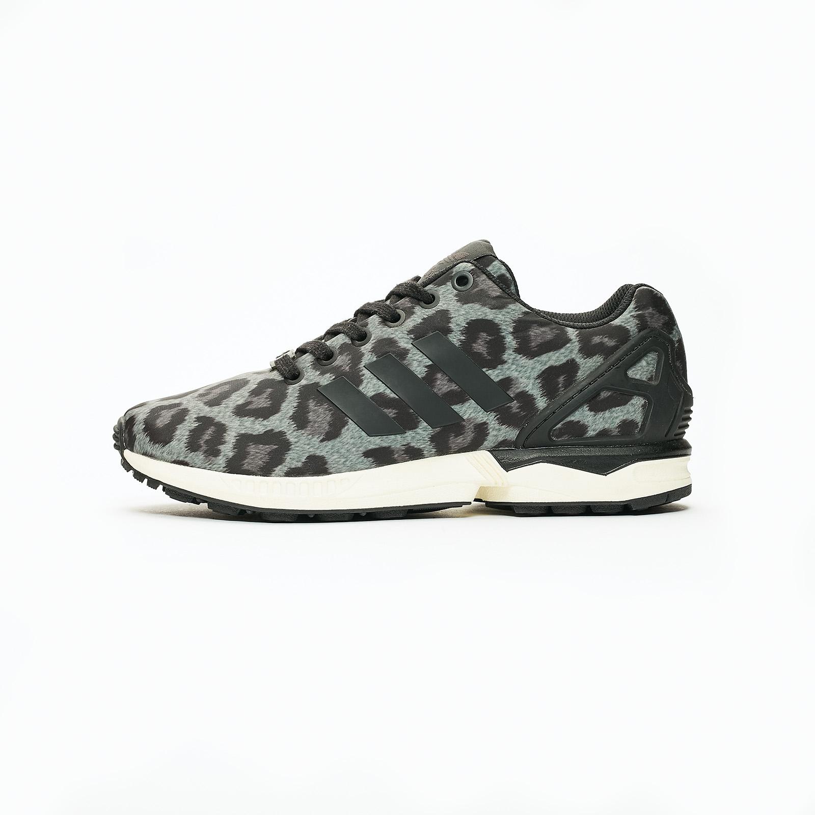 Adidas Originals ZX Flux Snow Leopard Men BlackCarbon