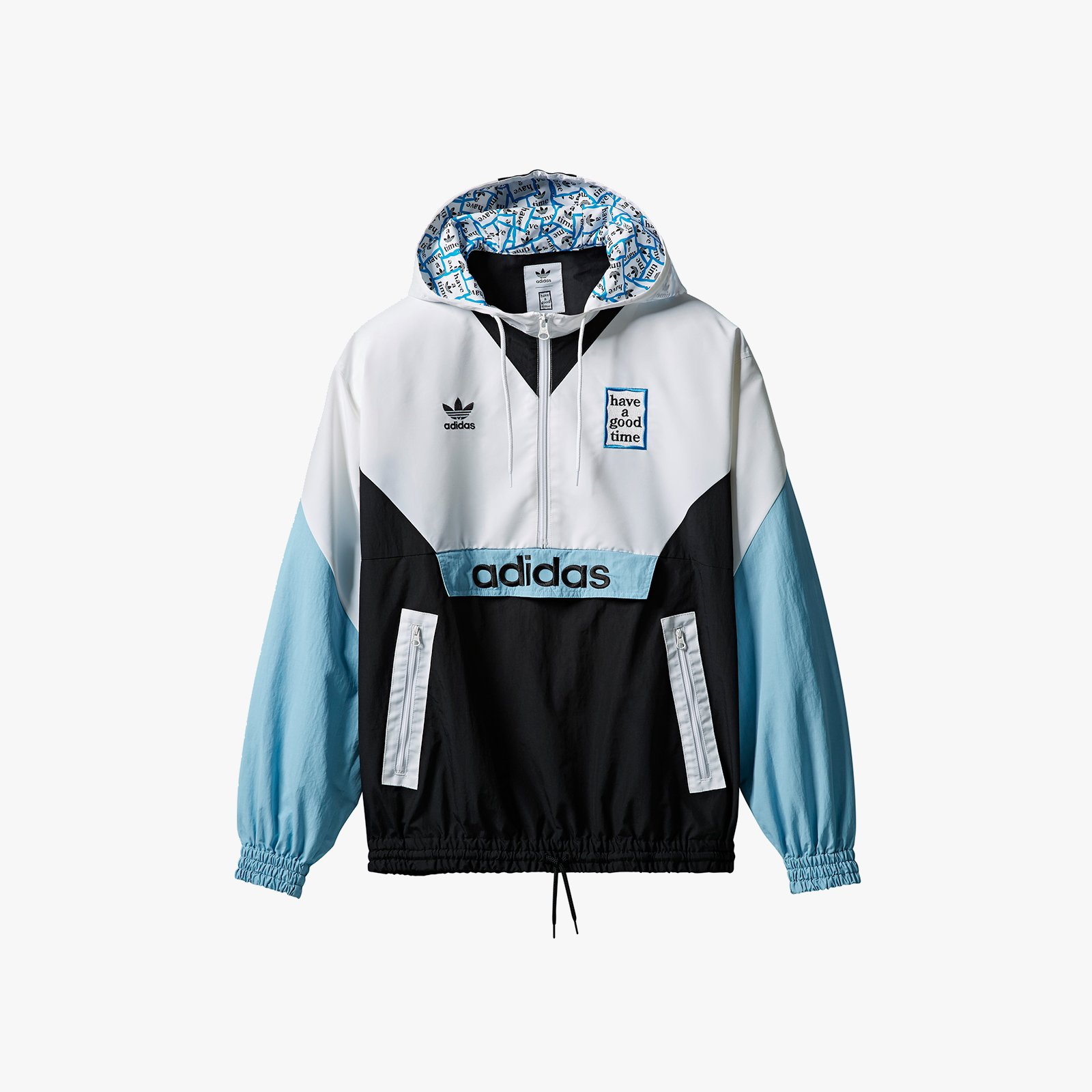best website ed46e 395e4 adidas Originals Pullover Windbreaker x Have A Good Time