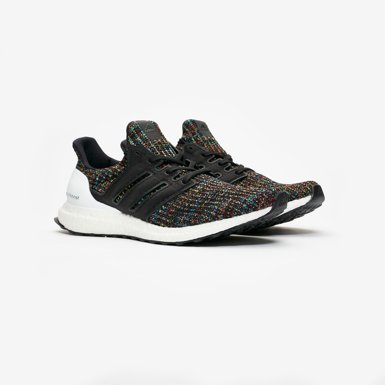 adidas UltraBOOST Running Shoes Core BlackActive Red F35232
