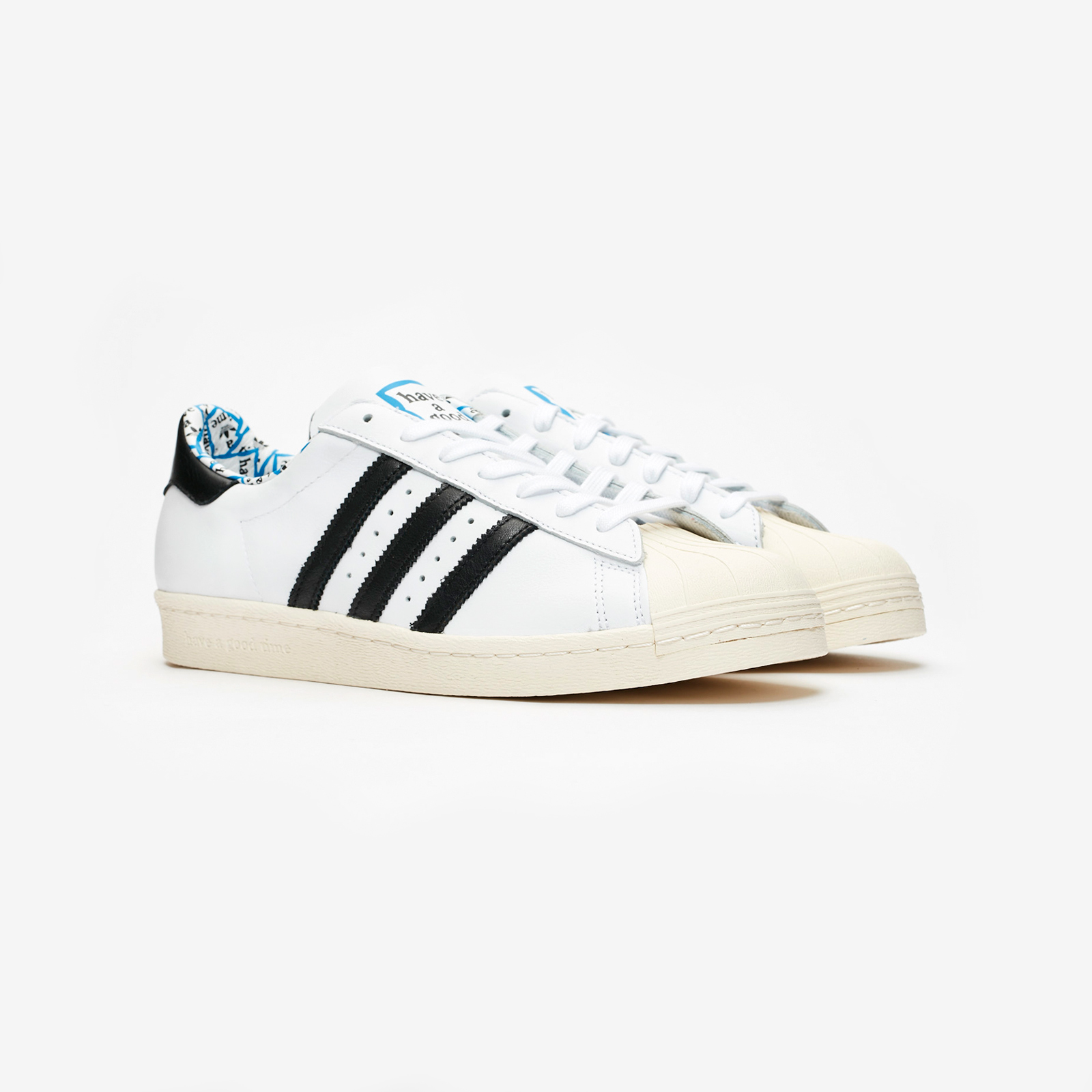 outlet store ea4bb 504cf adidas Originals Superstar 80s x Have A Good Time