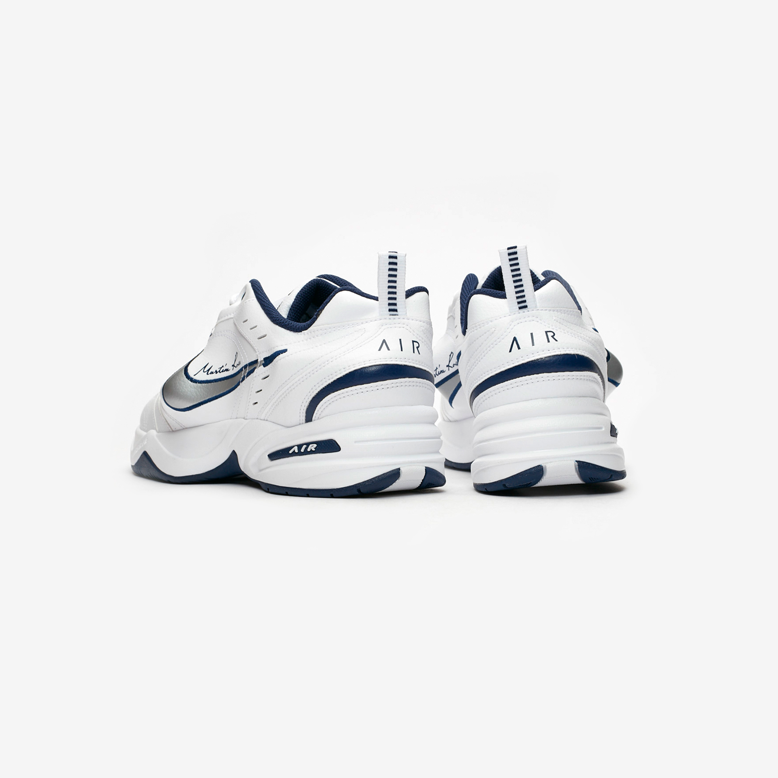 nike performance air monarch iv fitness weiß