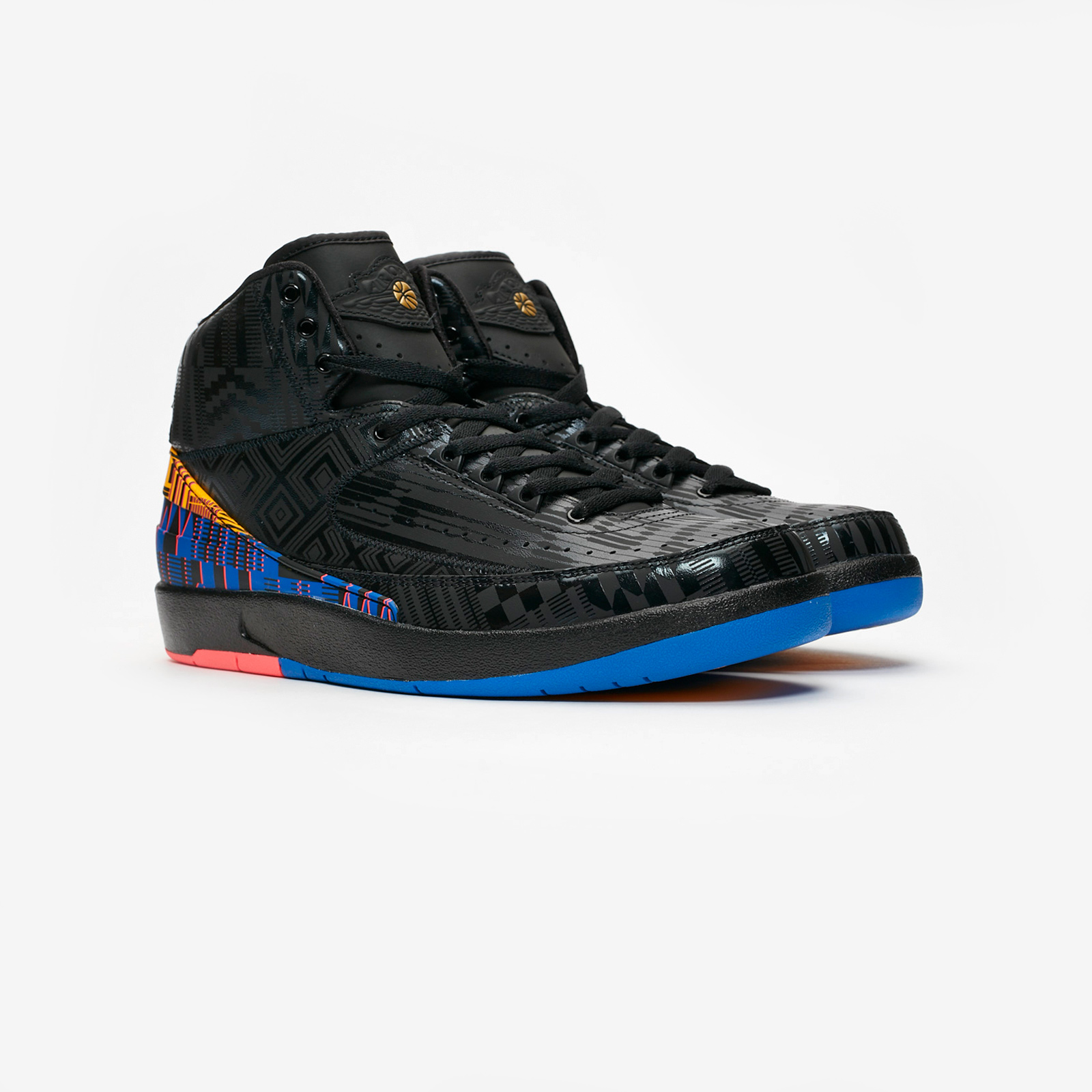 90d44c8ece04e0 Jordan Brand Air Jordan 2 Retro BHM - Bq7618-007 - Sneakersnstuff ...