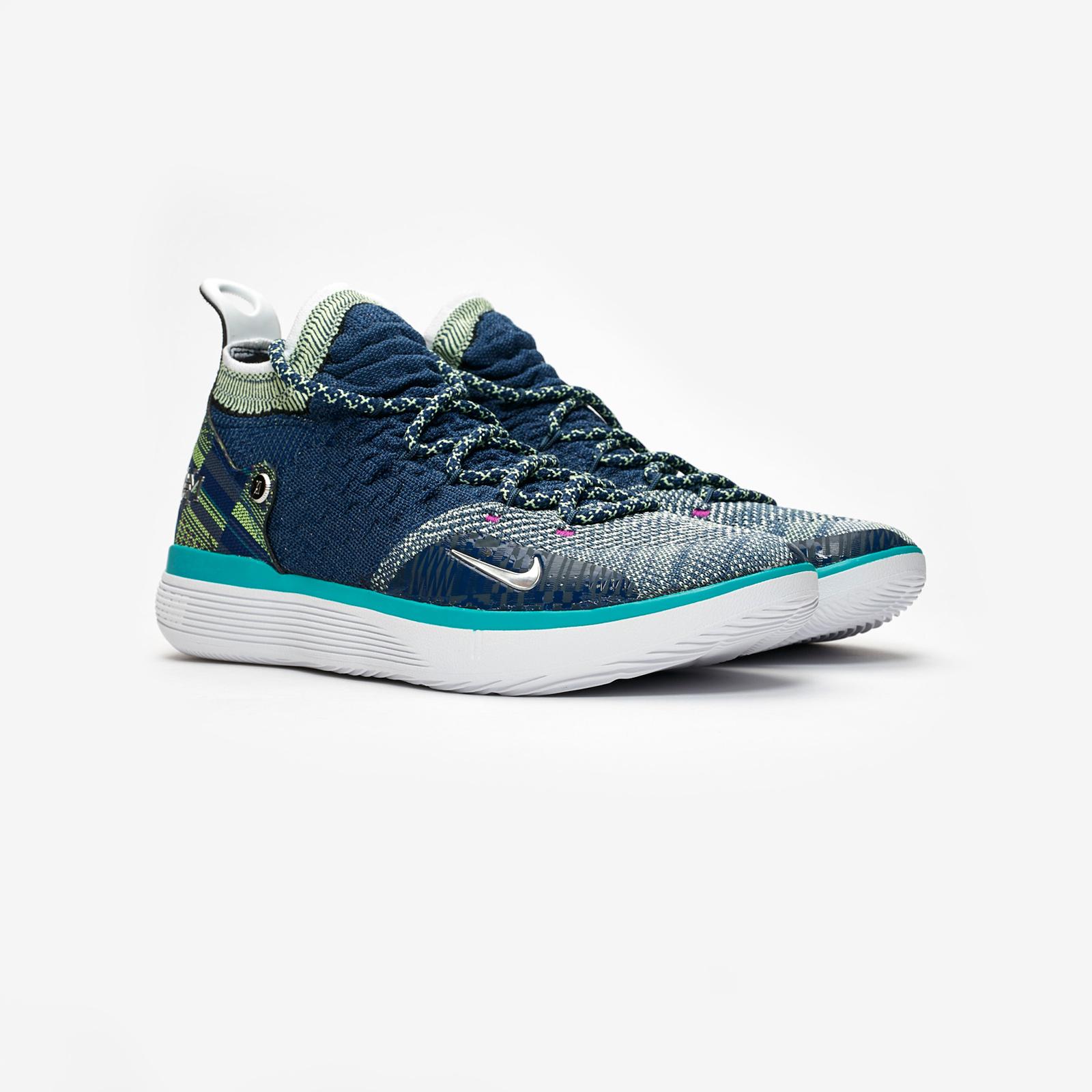 53ca4f837826 Nike Zoom KD11 BHM - Bq6245-400 - Sneakersnstuff