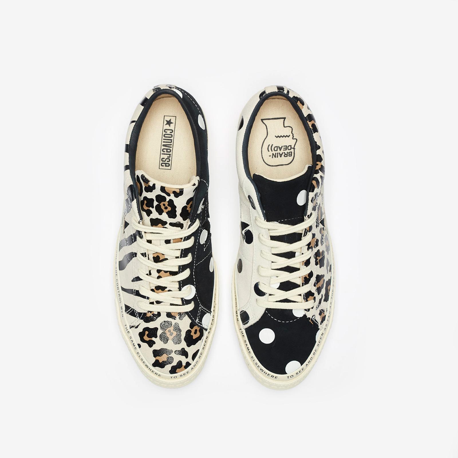 laringe Espolvorear Ejemplo  Converse One Star x Brain Dead - 163167c - Sneakersnstuff | sneakers &  streetwear online since 1999
