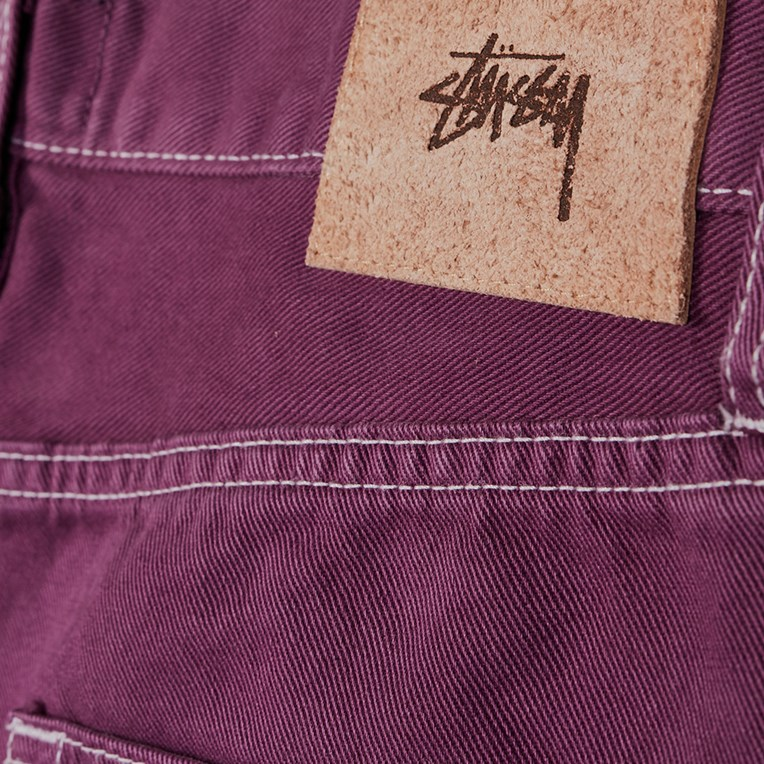 Stussy Overdyed Big Ol Jeans - 3