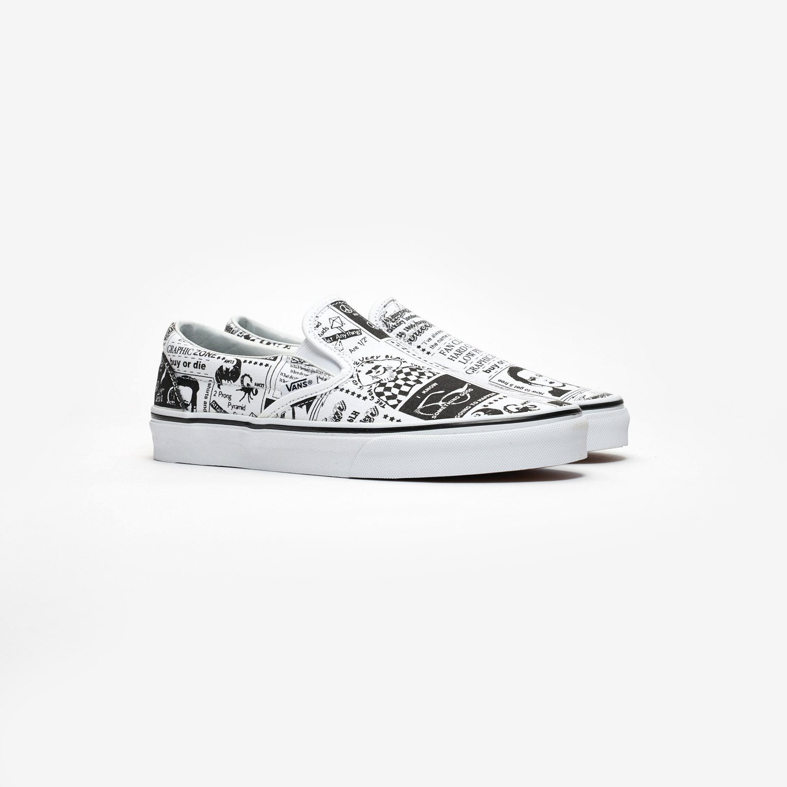 f539edc2dd9db7 Vans Classic Slip-On x Ashley Williams - Vn0a38f7sfq ...